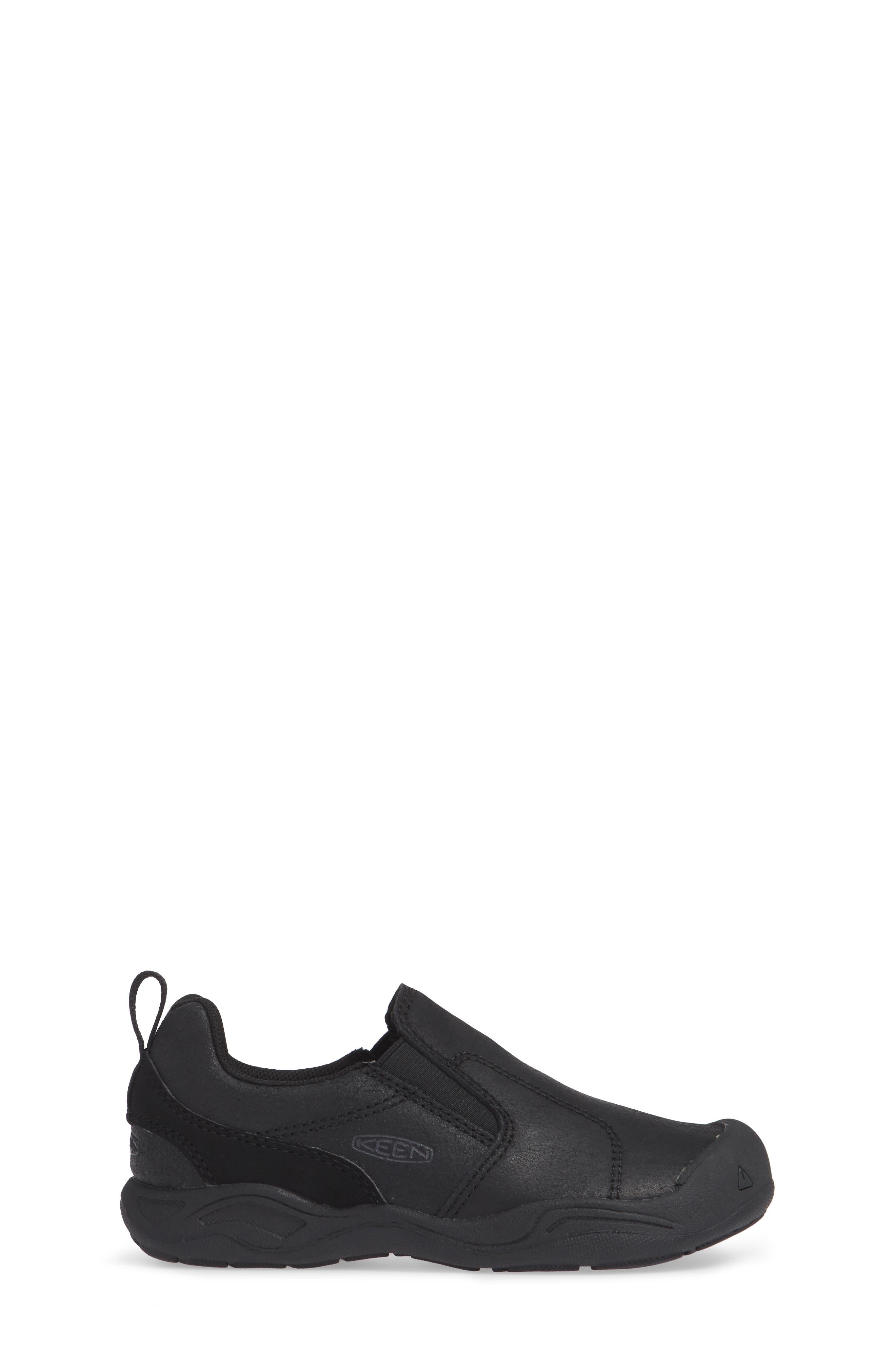 Jasper Slip-On Sneaker,                             Alternate thumbnail 3, color,                             BLACK/ RAVEN
