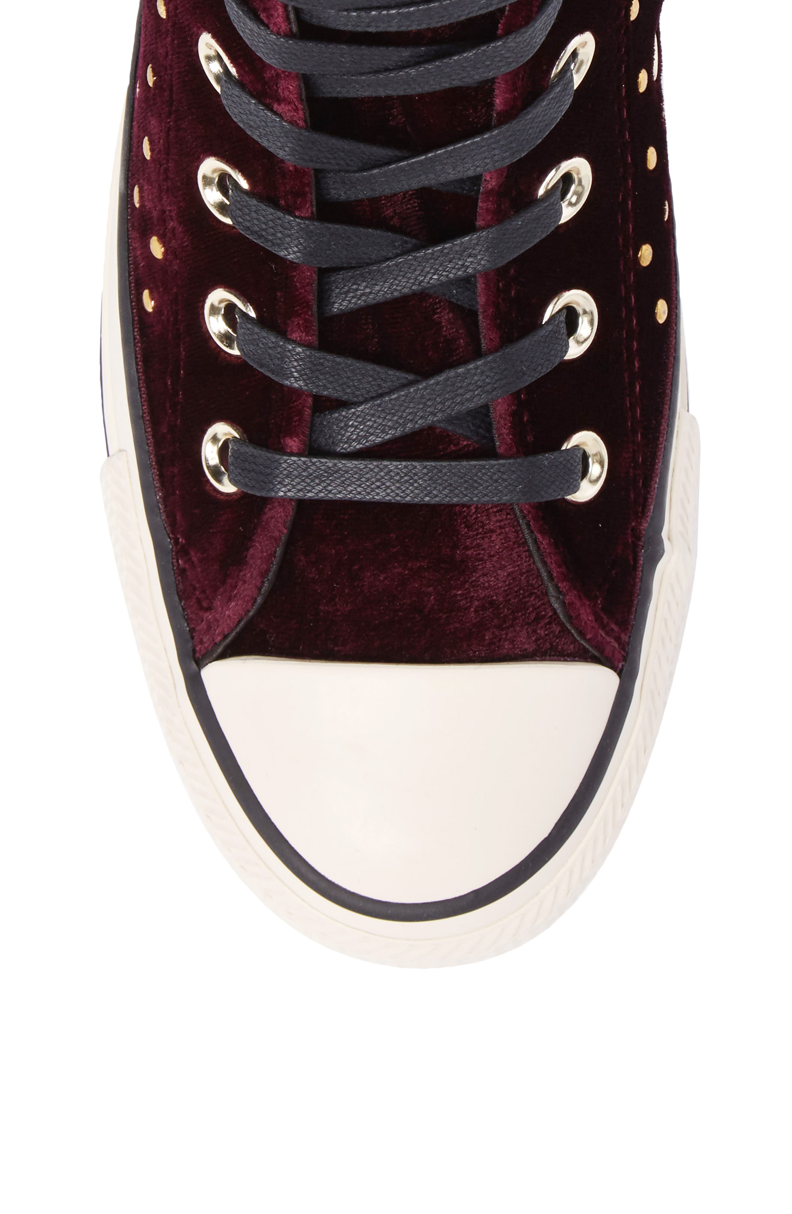 Chuck Taylor<sup>®</sup> All Star<sup>®</sup> Studded High Top Sneakers,                             Alternate thumbnail 15, color,