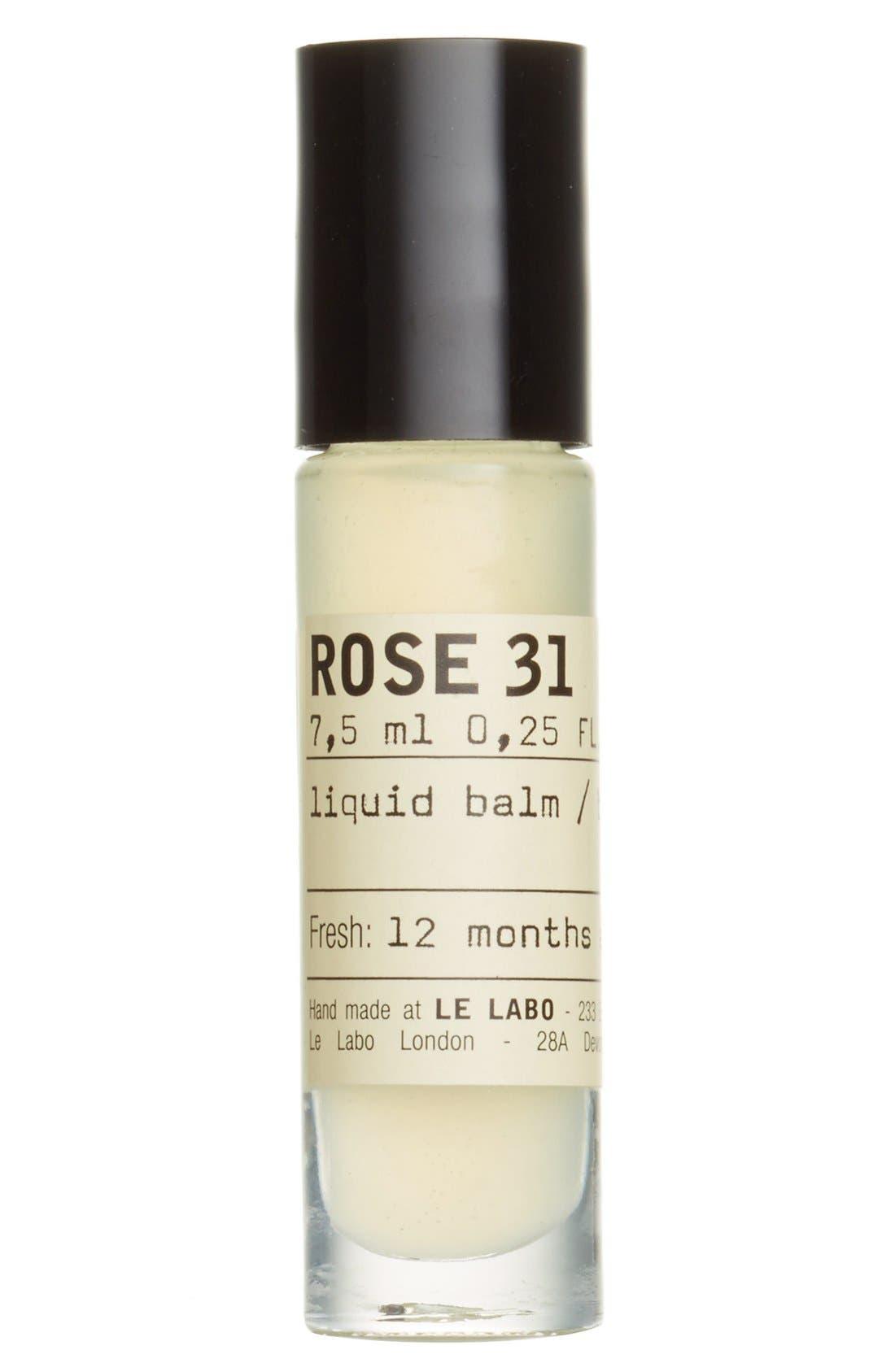 Rose 31 Liquid Balm,                             Main thumbnail 1, color,                             NO COLOR