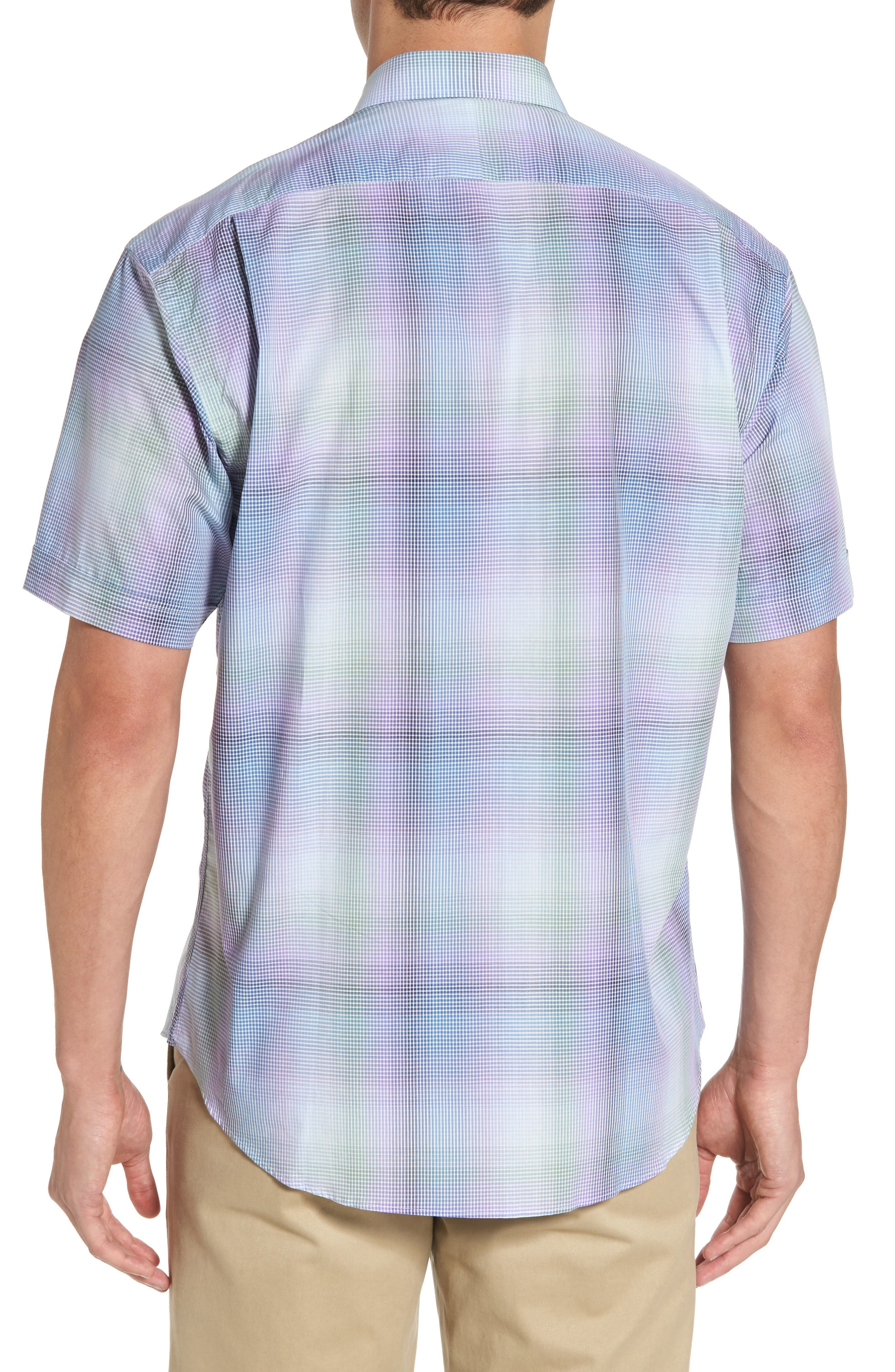 Classic Fit Shadow Check Sport Shirt,                             Alternate thumbnail 2, color,                             500