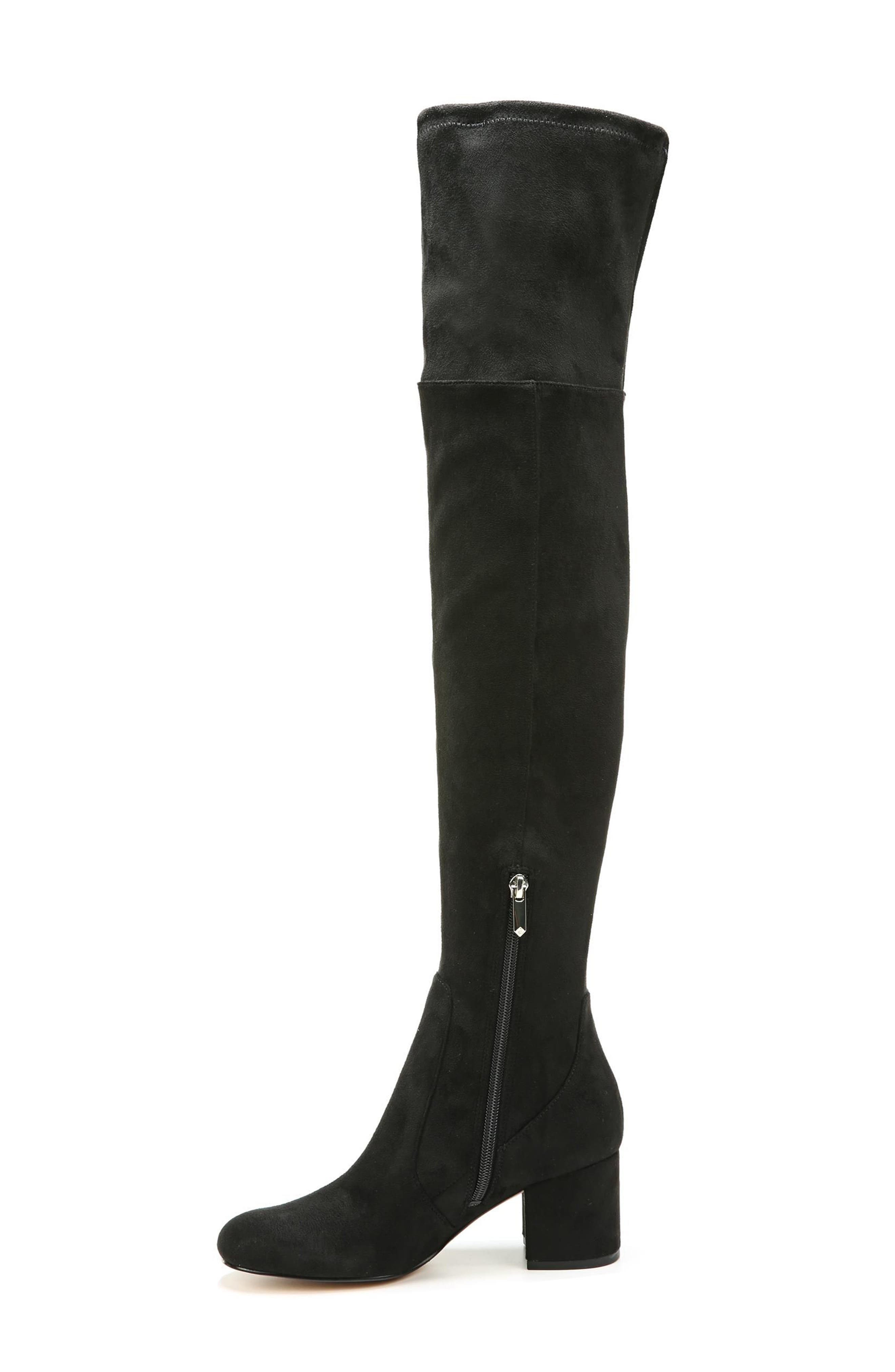 Varona Over the Knee Boot,                             Alternate thumbnail 3, color,                             001