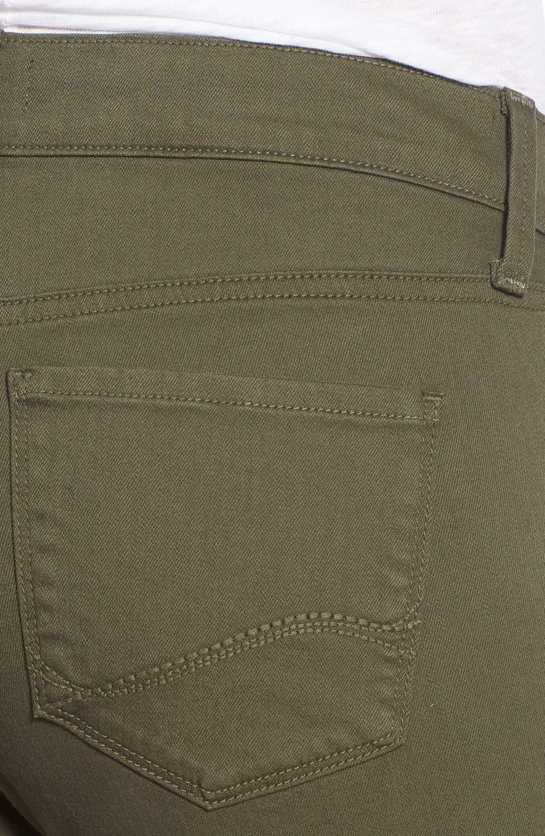 'Dayla' Colored Wide Cuff Capri Jeans,                             Alternate thumbnail 19, color,