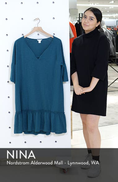 Ruffle Sleeve Cotton Dress, sales video thumbnail