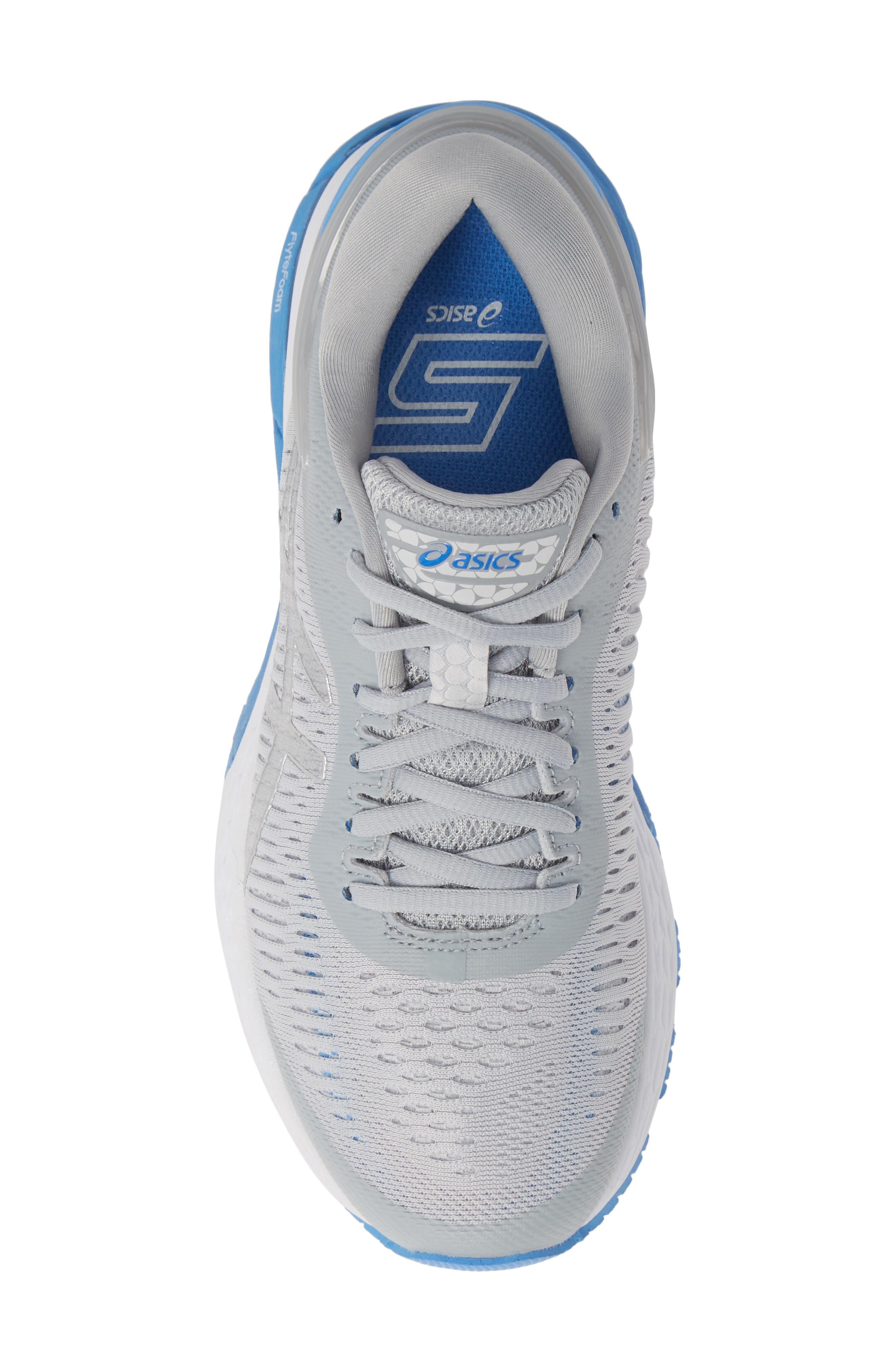 GEL-Kayano<sup>®</sup> 25 Running Shoe,                             Alternate thumbnail 5, color,                             MID GREY/ BLUE
