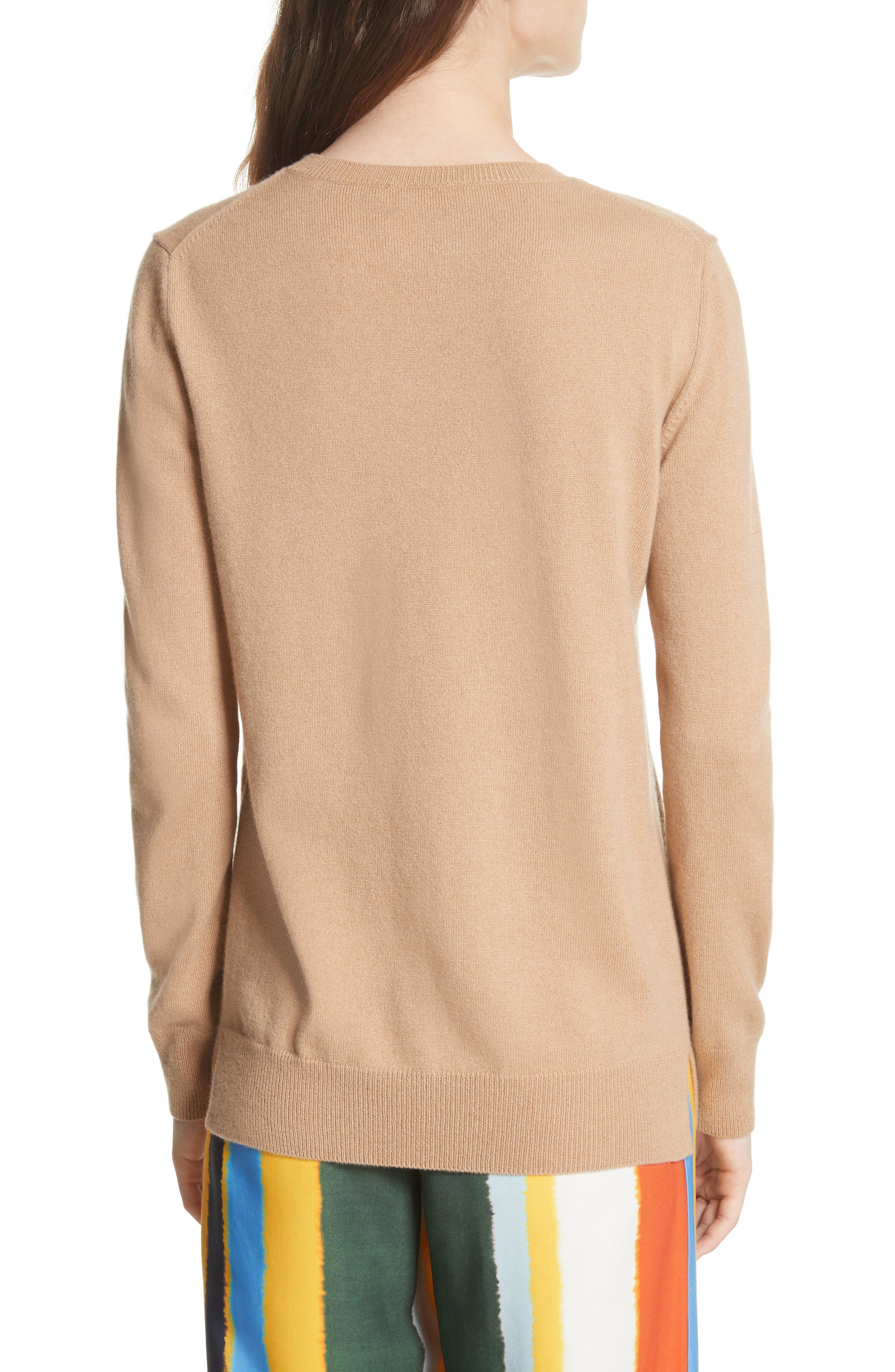 Bella Cashmere Sweater,                             Alternate thumbnail 2, color,                             235