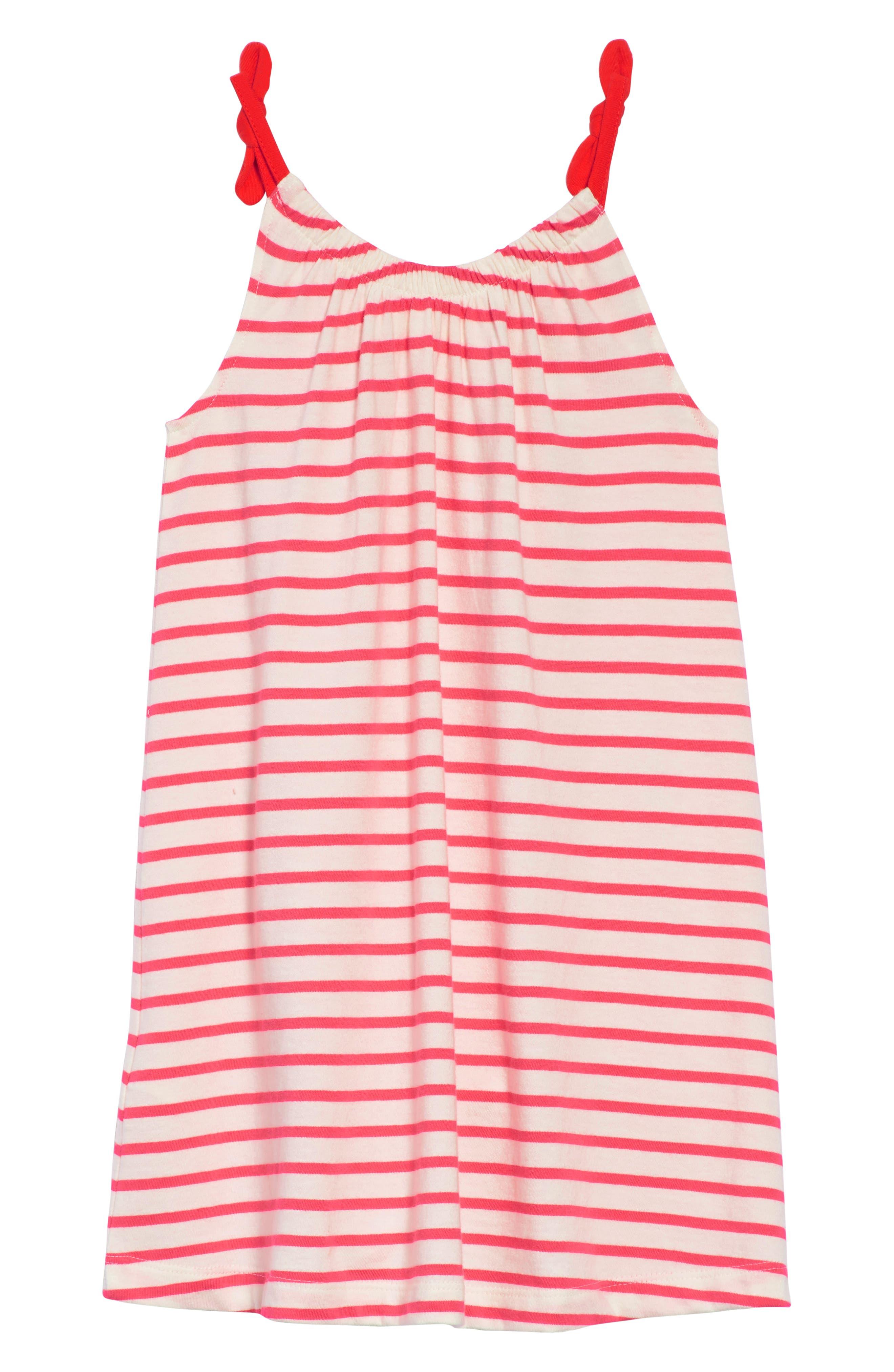 Strawberry Stripe Sundress,                             Alternate thumbnail 2, color,                             664