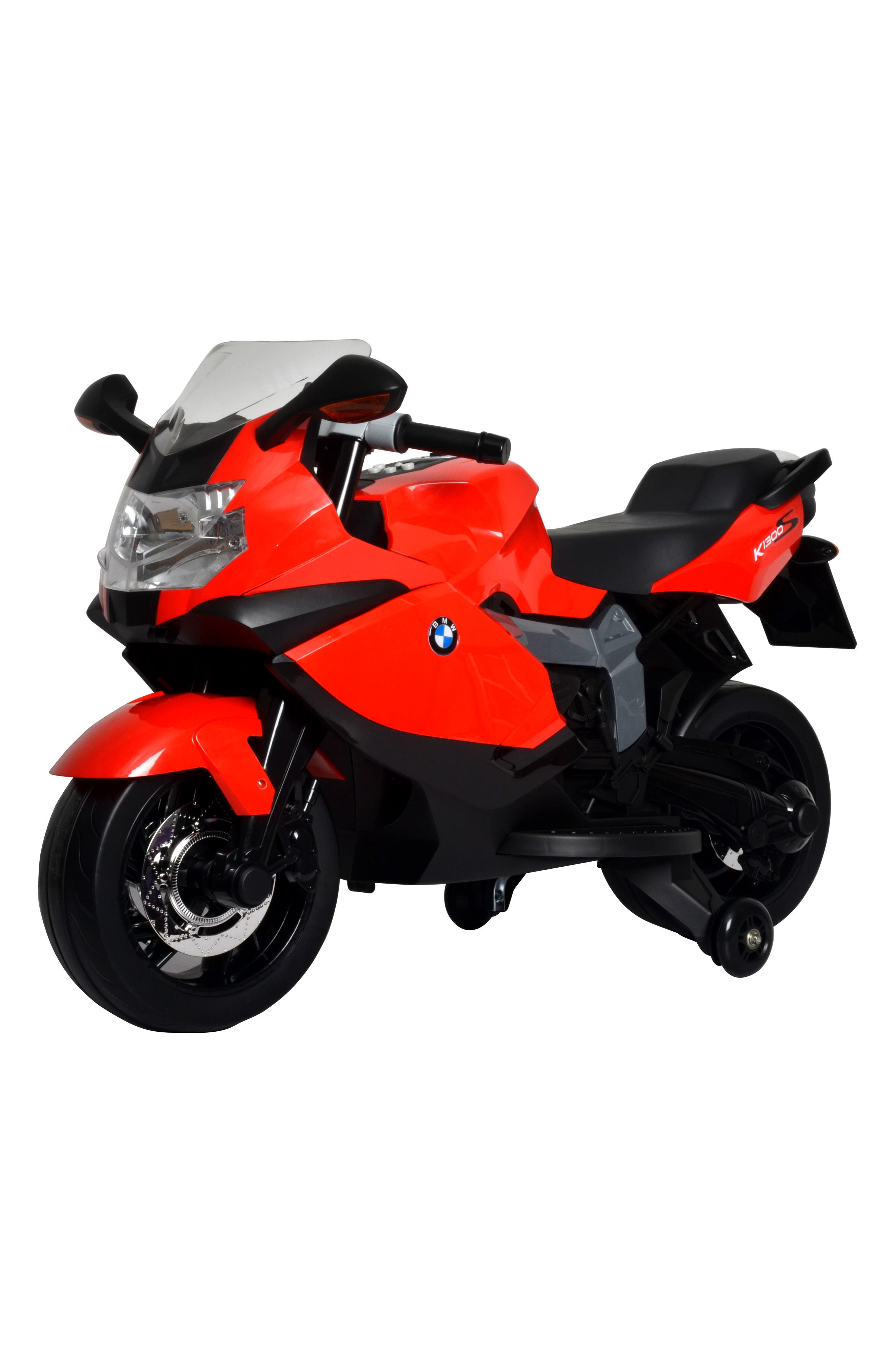 BEST RIDE ON CARS BMW Ride-On Toy Motorcycle, Main, color, RED