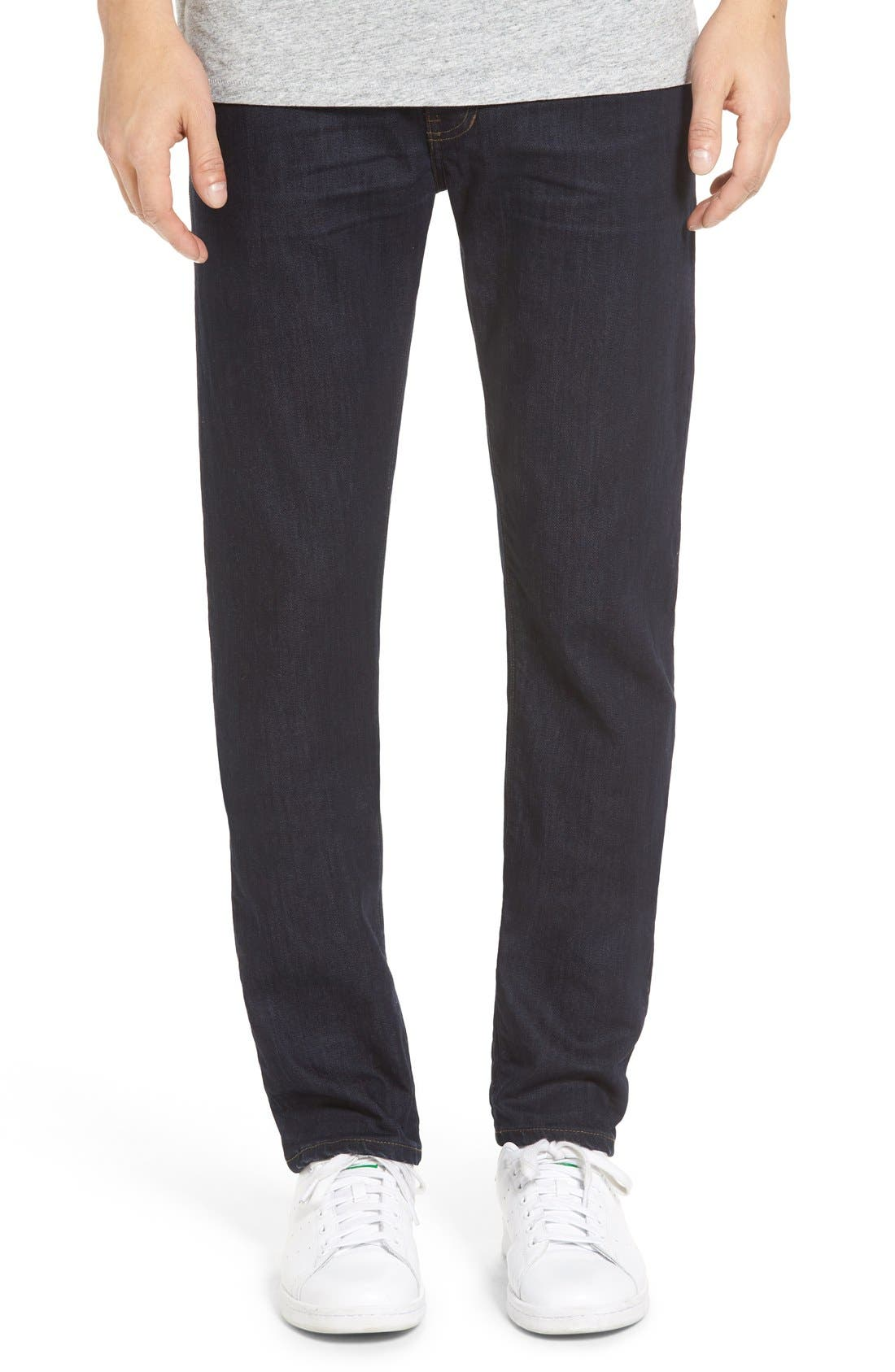'Jones' Slim Straight Leg Jeans,                             Main thumbnail 1, color,                             418