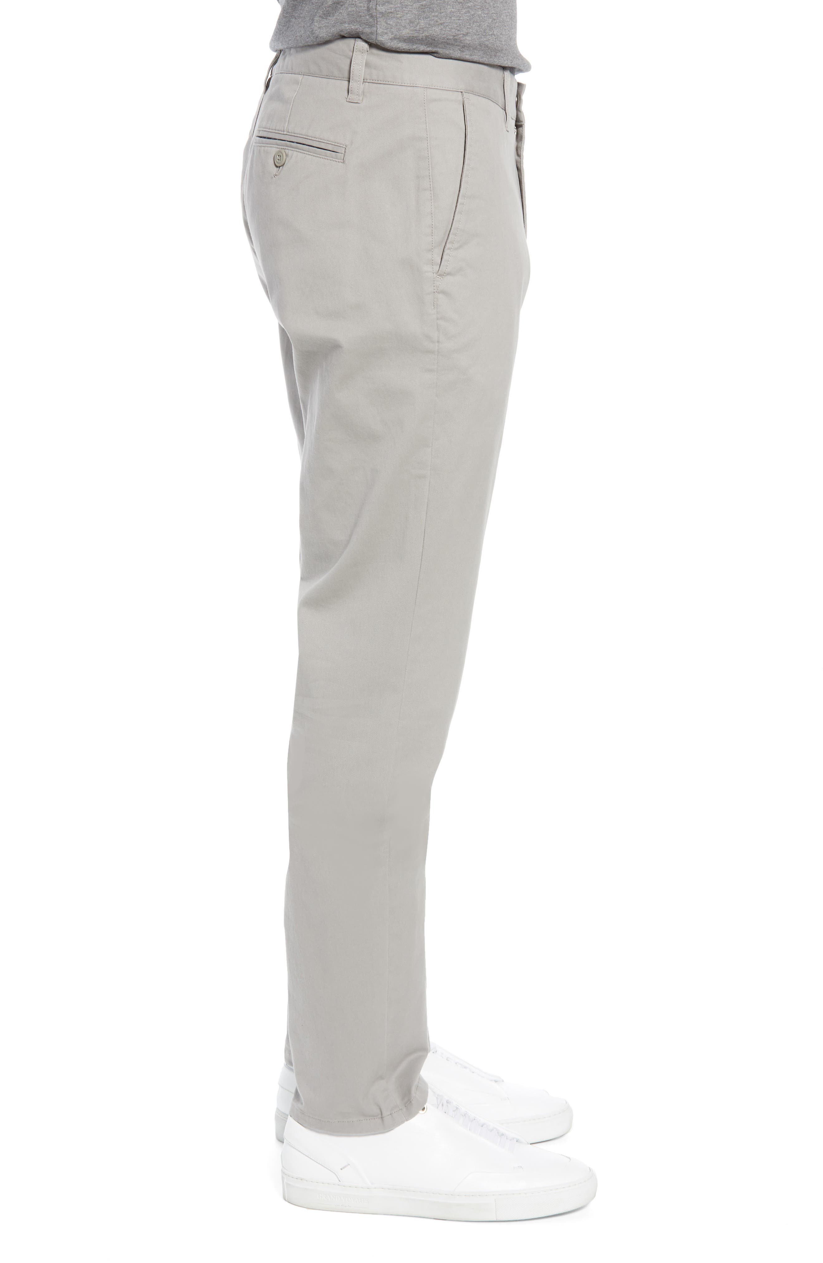 BONOBOS,                             Athletic Fit Stretch Washed Chinos,                             Alternate thumbnail 3, color,                             GREY DOGS