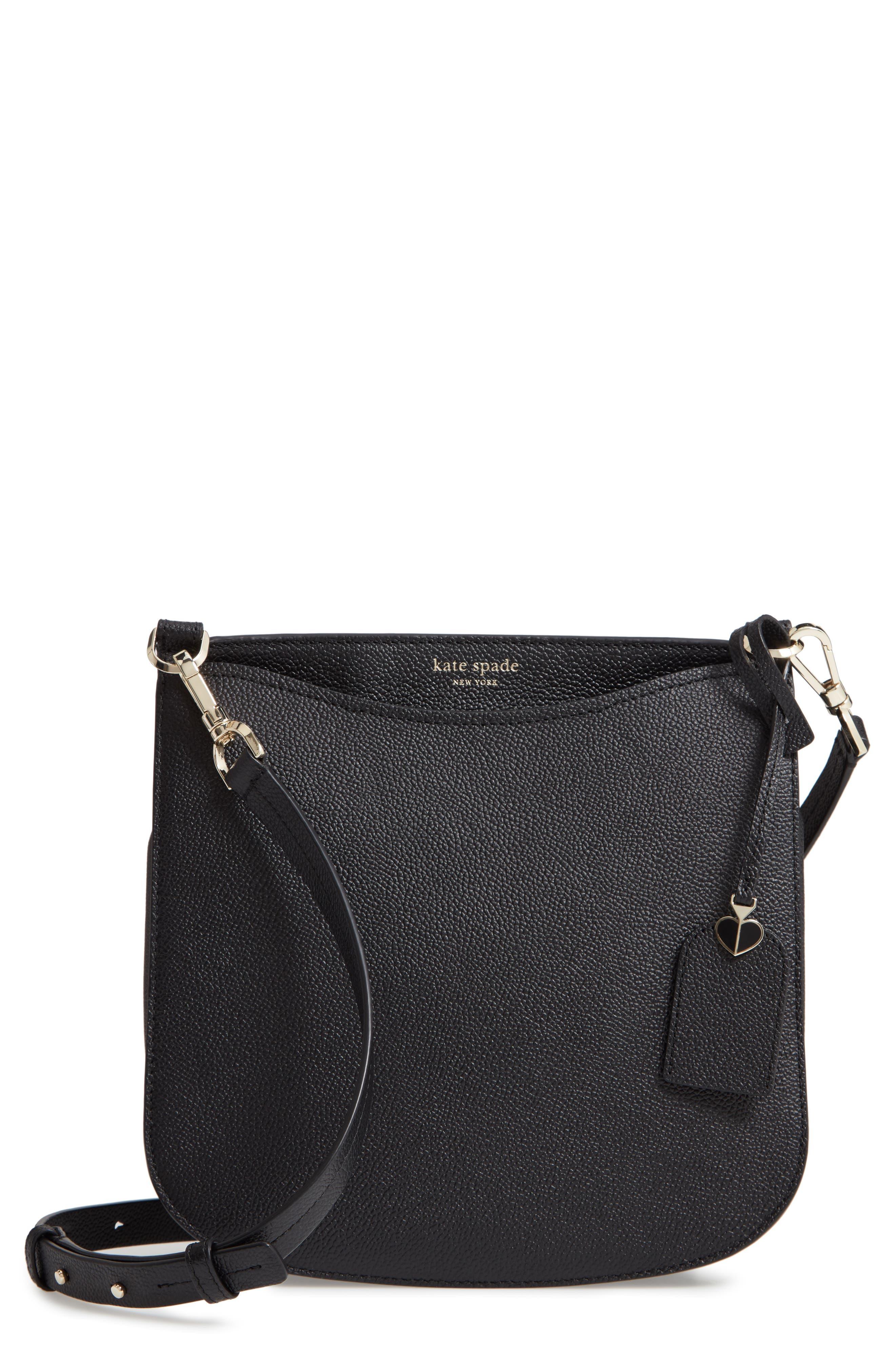 KATE SPADE NEW YORK,                             margaux large crossbody bag,                             Main thumbnail 1, color,                             BLACK