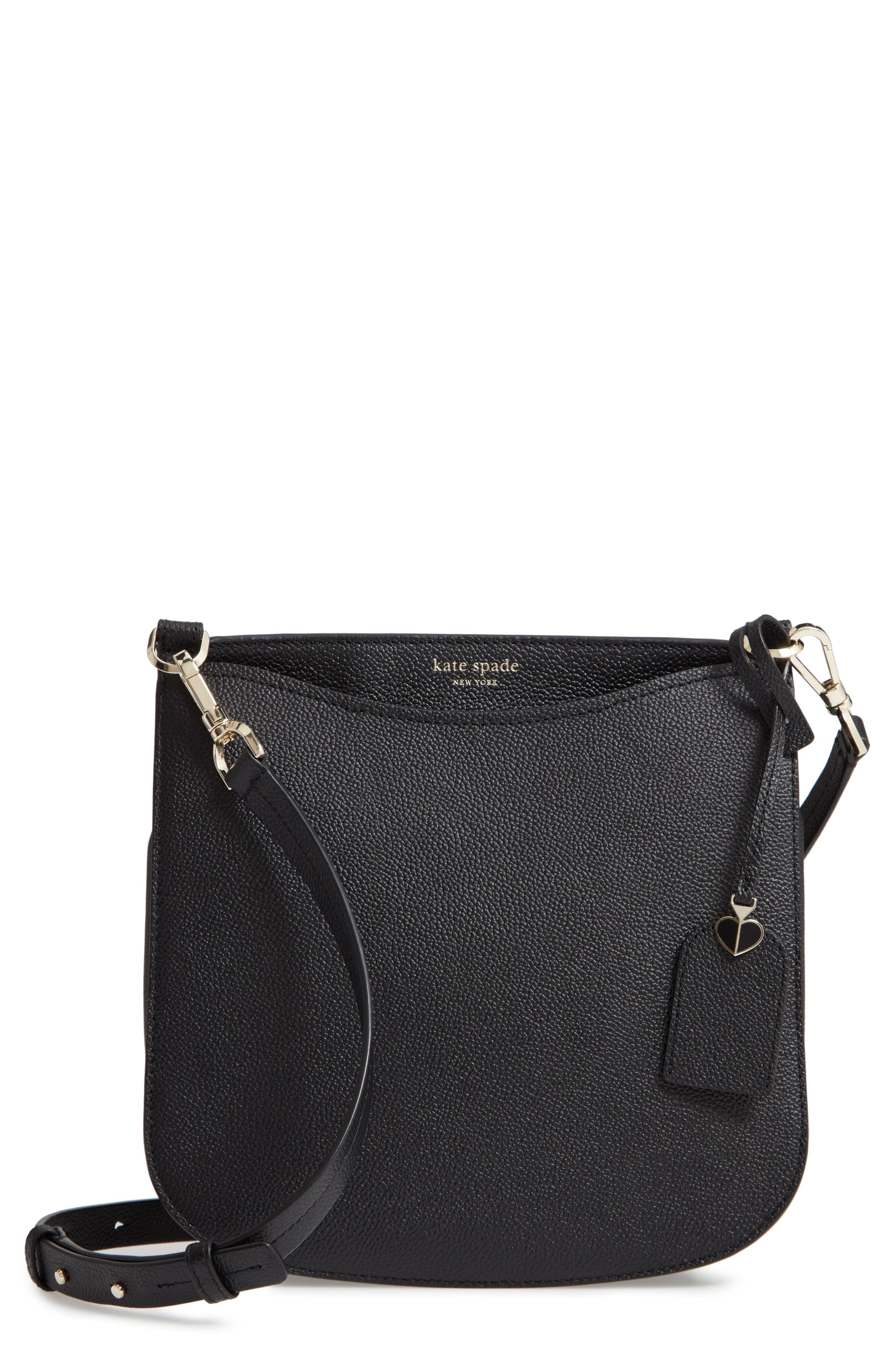 KATE SPADE NEW YORK margaux large crossbody bag, Main, color, BLACK