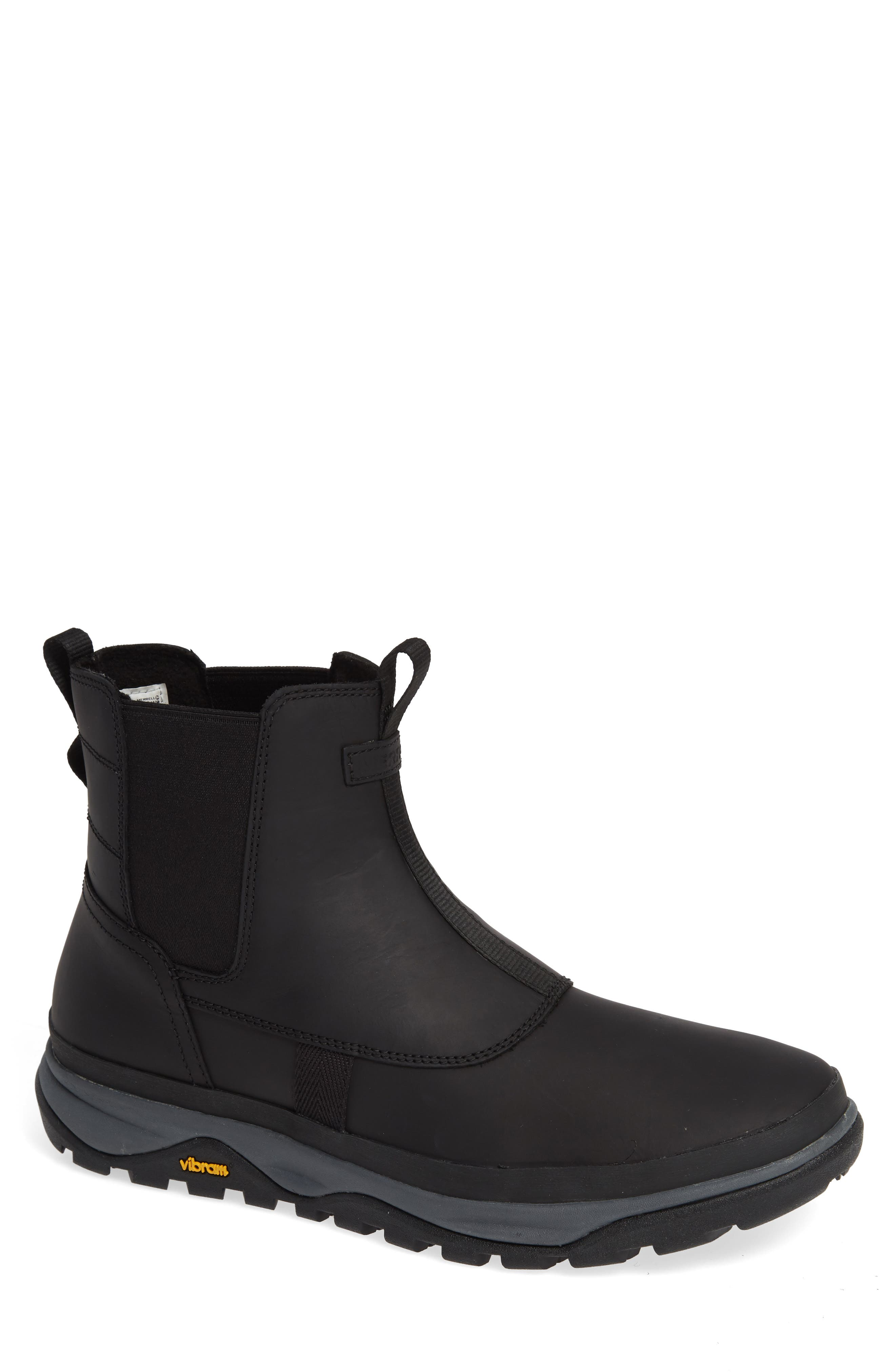 Tremblant Waterproof Snow Boot,                             Main thumbnail 1, color,                             BLACK