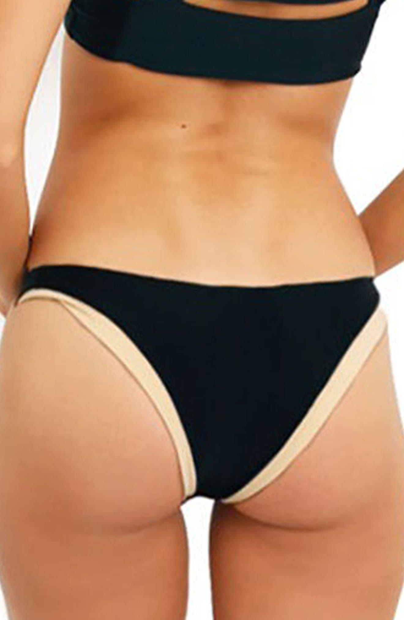 Issa de' mar Coco Bikini Bottoms,                             Alternate thumbnail 2, color,                             001