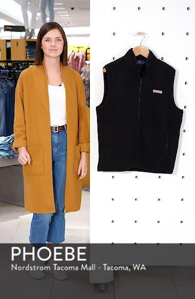 Harbor Regular Fit Fleece Vest, sales video thumbnail