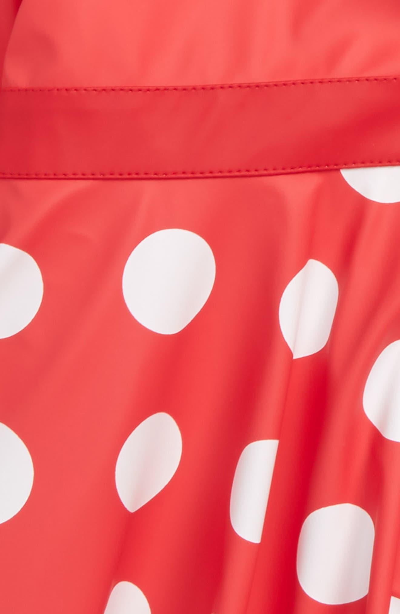 Minnie Mouse<sup>™</sup> Raincoat,                             Alternate thumbnail 2, color,                             610