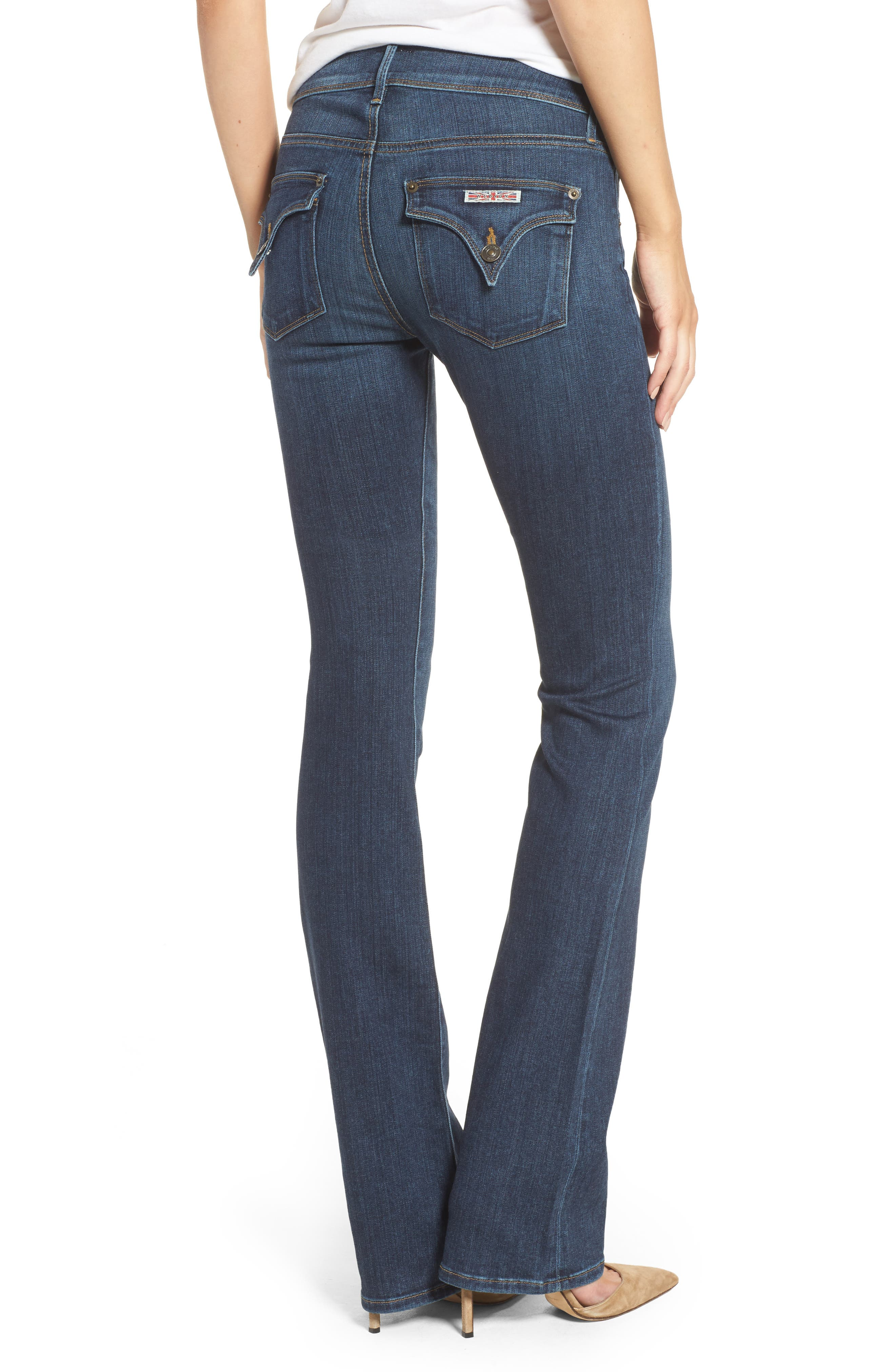 'Beth' Baby Bootcut Jeans,                             Alternate thumbnail 2, color,                             422