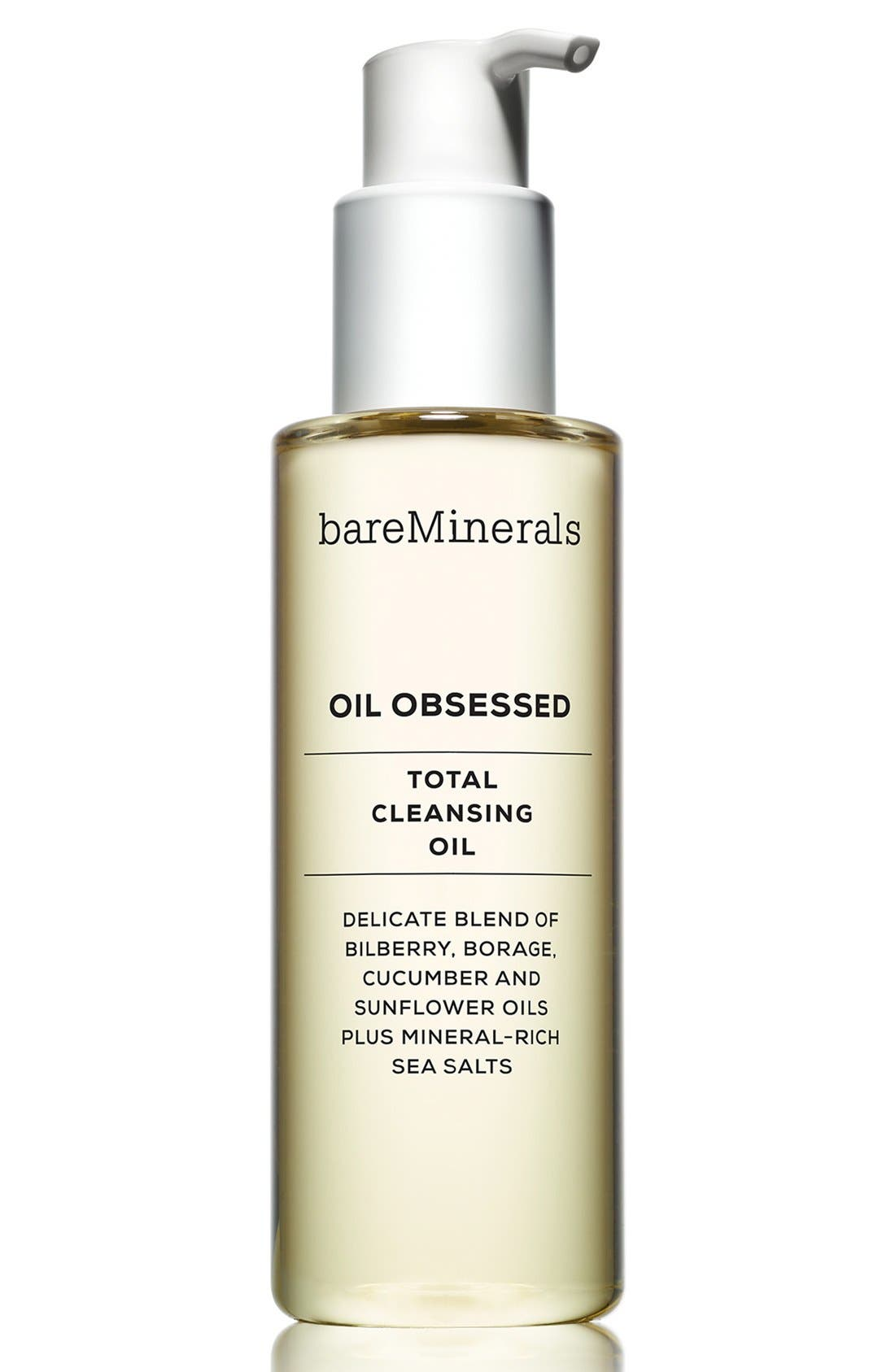 'Oil Obsessed' Total Cleansing Oil,                             Main thumbnail 1, color,                             NO COLOR