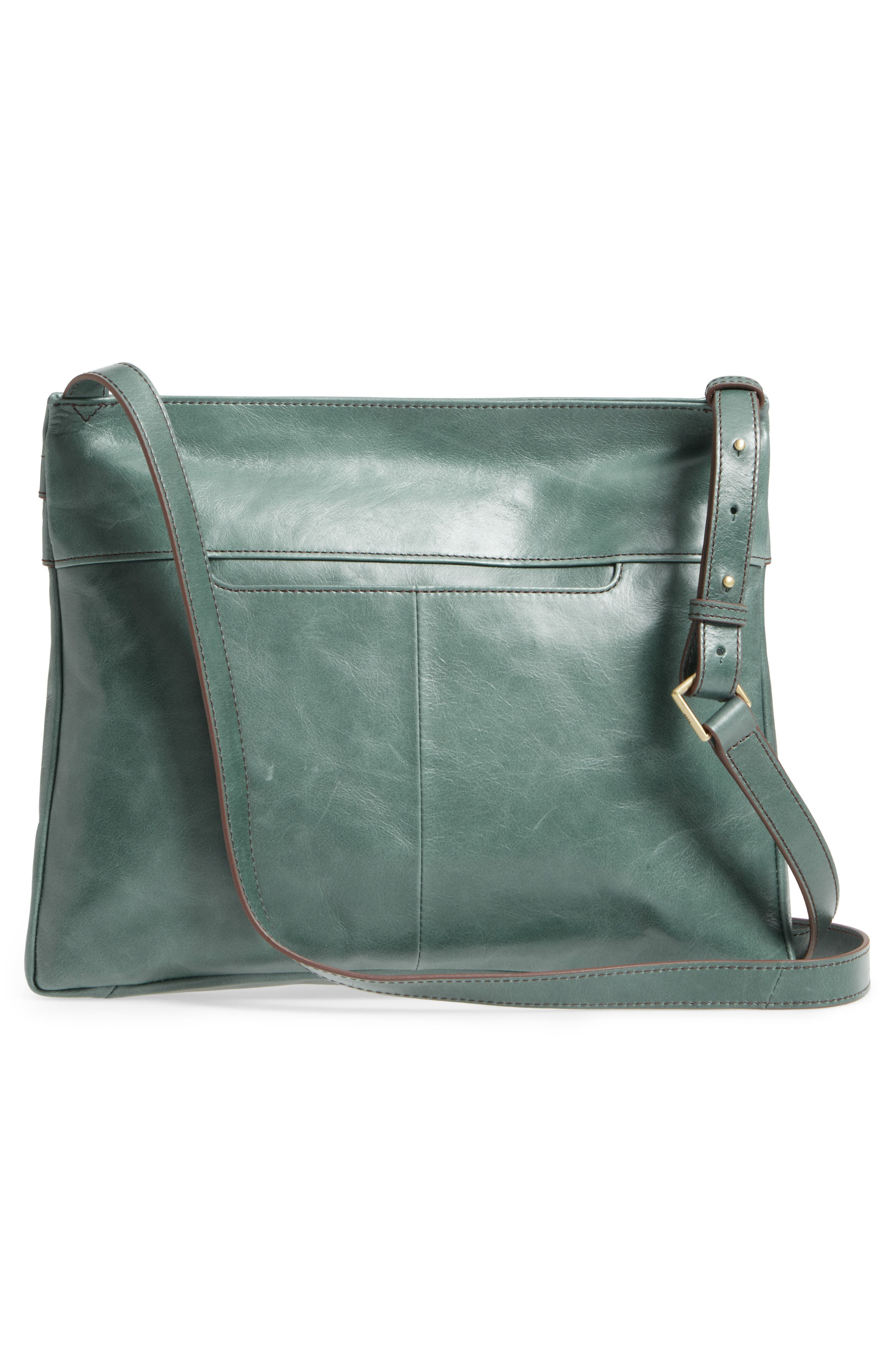 Larkin Leather Messenger Bag,                             Alternate thumbnail 3, color,                             357