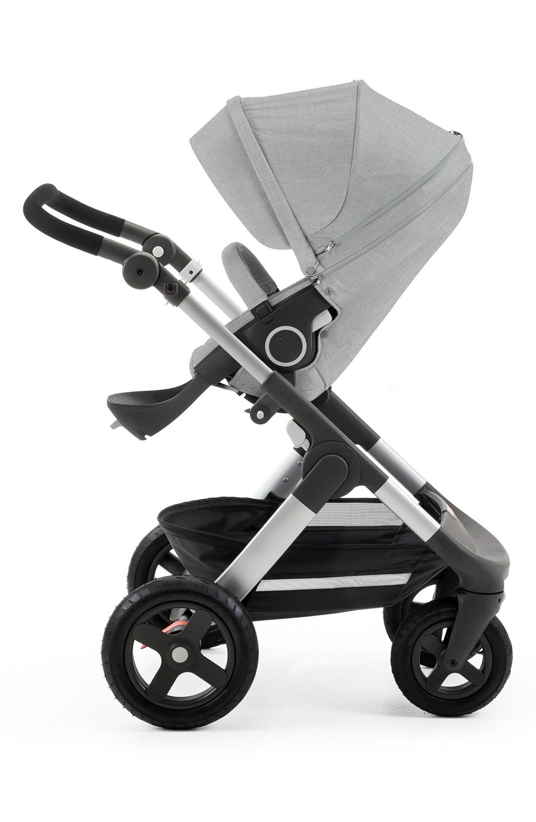 Trailz<sup>™</sup> All Terrain Stroller,                             Alternate thumbnail 4, color,                             GREY MELANGE