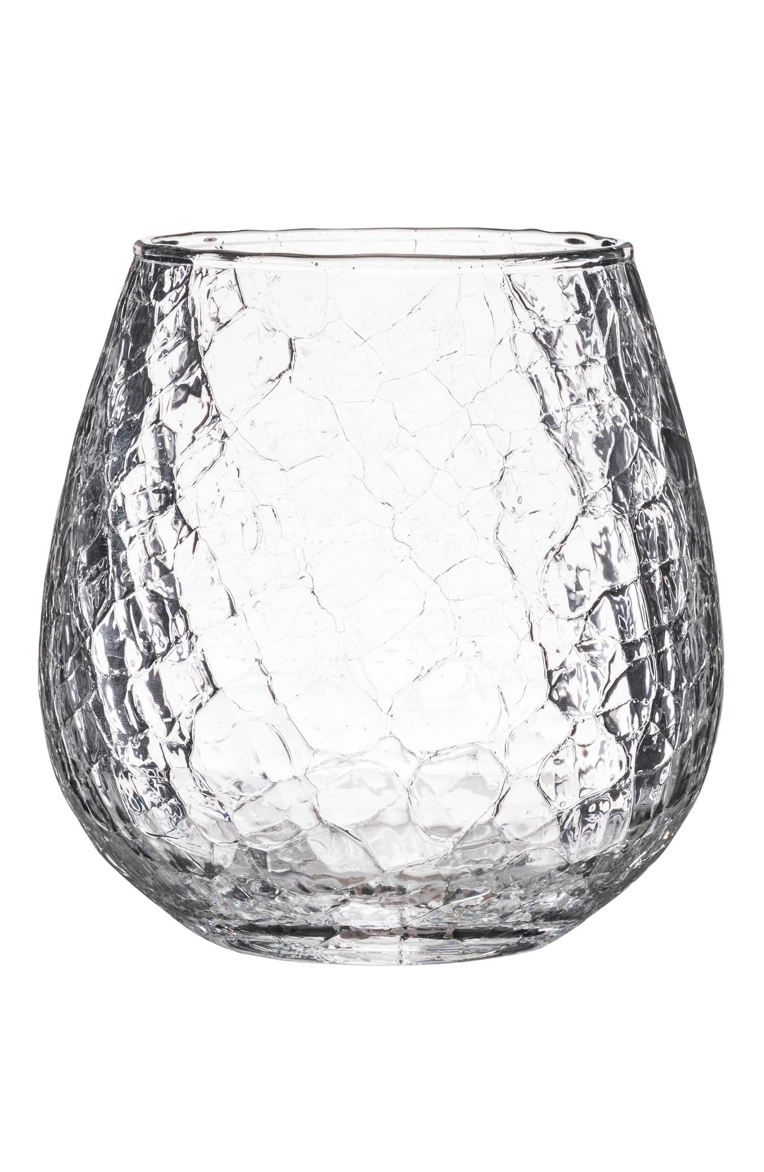 JULISKA Hugo Stemless Red Wine Glass, Main, color, CLEAR