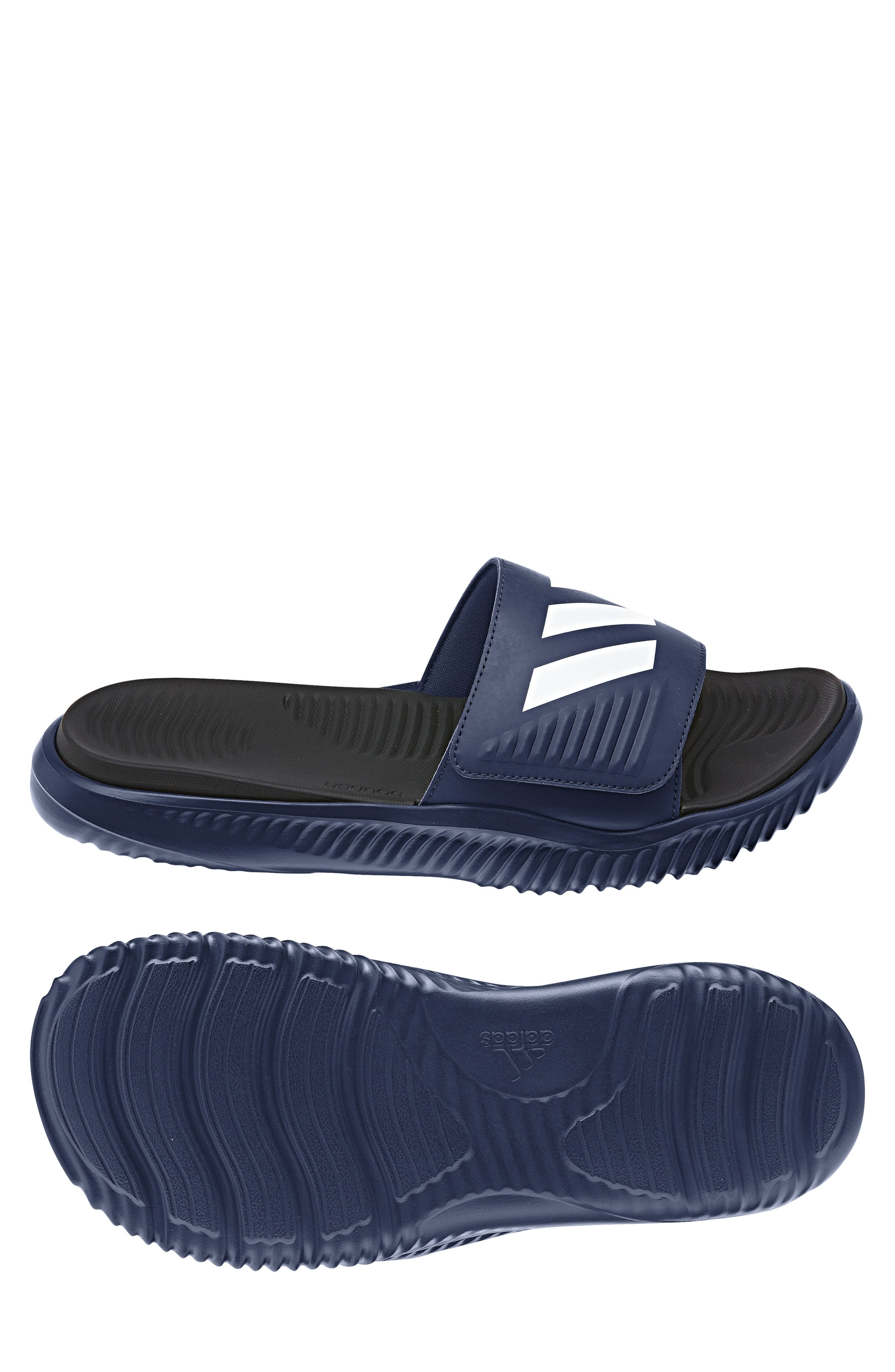 AlphaBounce Slide Sandal,                             Alternate thumbnail 4, color,                             415