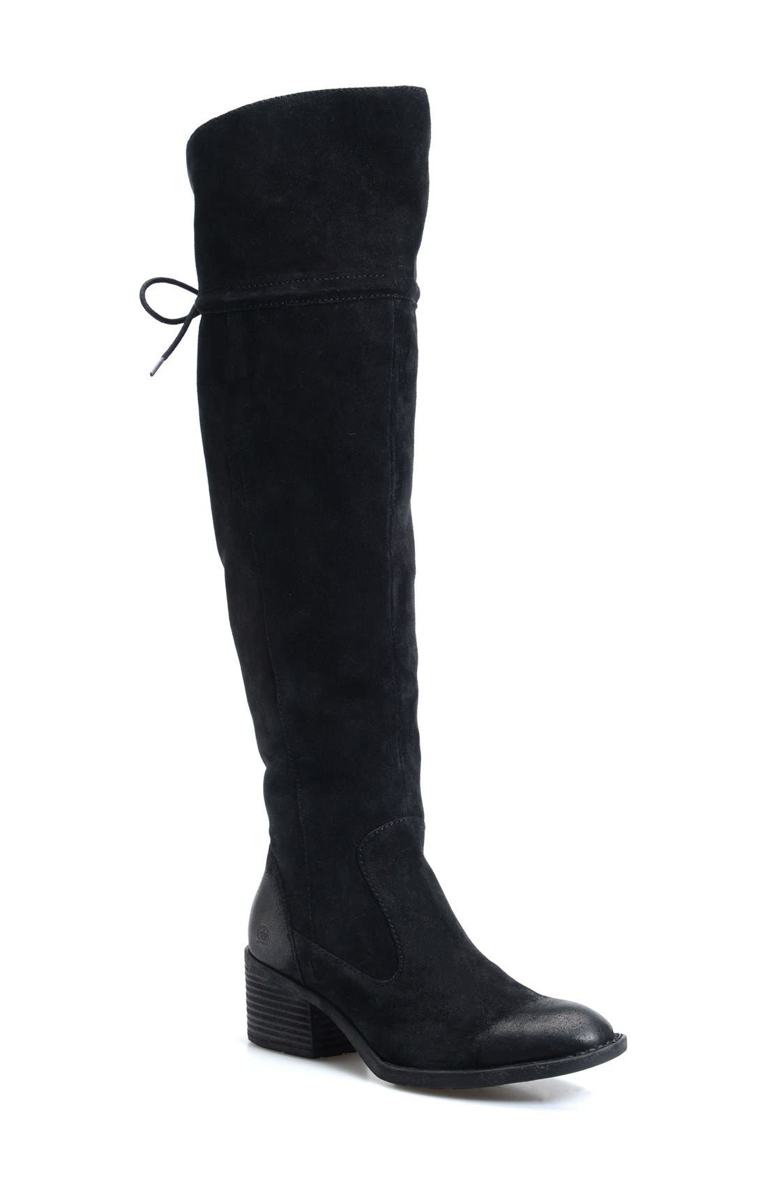 Gallinara Over the Knee Boot,                             Main thumbnail 1, color,