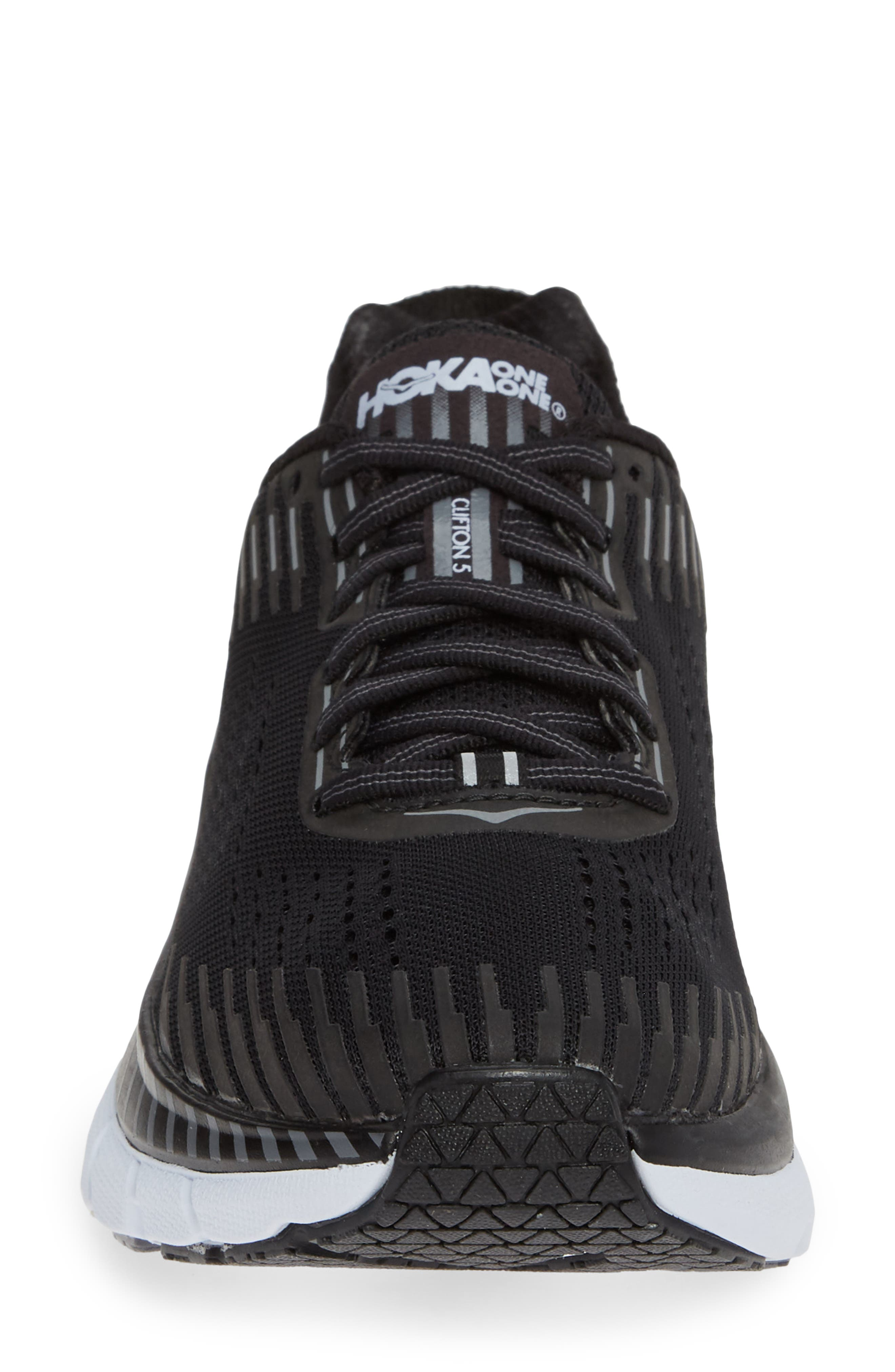 Clifton 5 Running Shoe,                             Alternate thumbnail 4, color,                             001