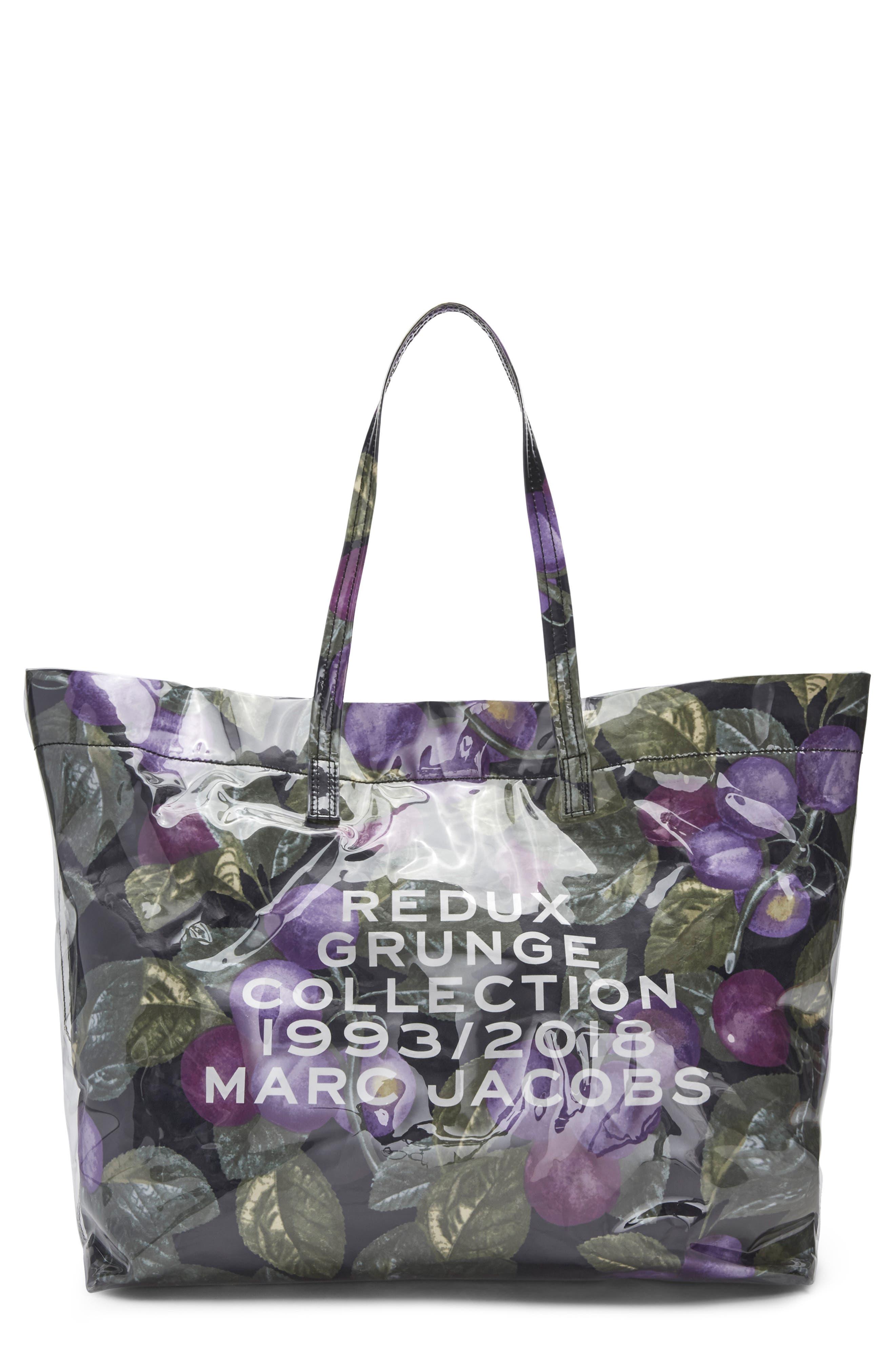 Redux Grunge East/West Tote,                         Main,                         color, PURPLE MULTI