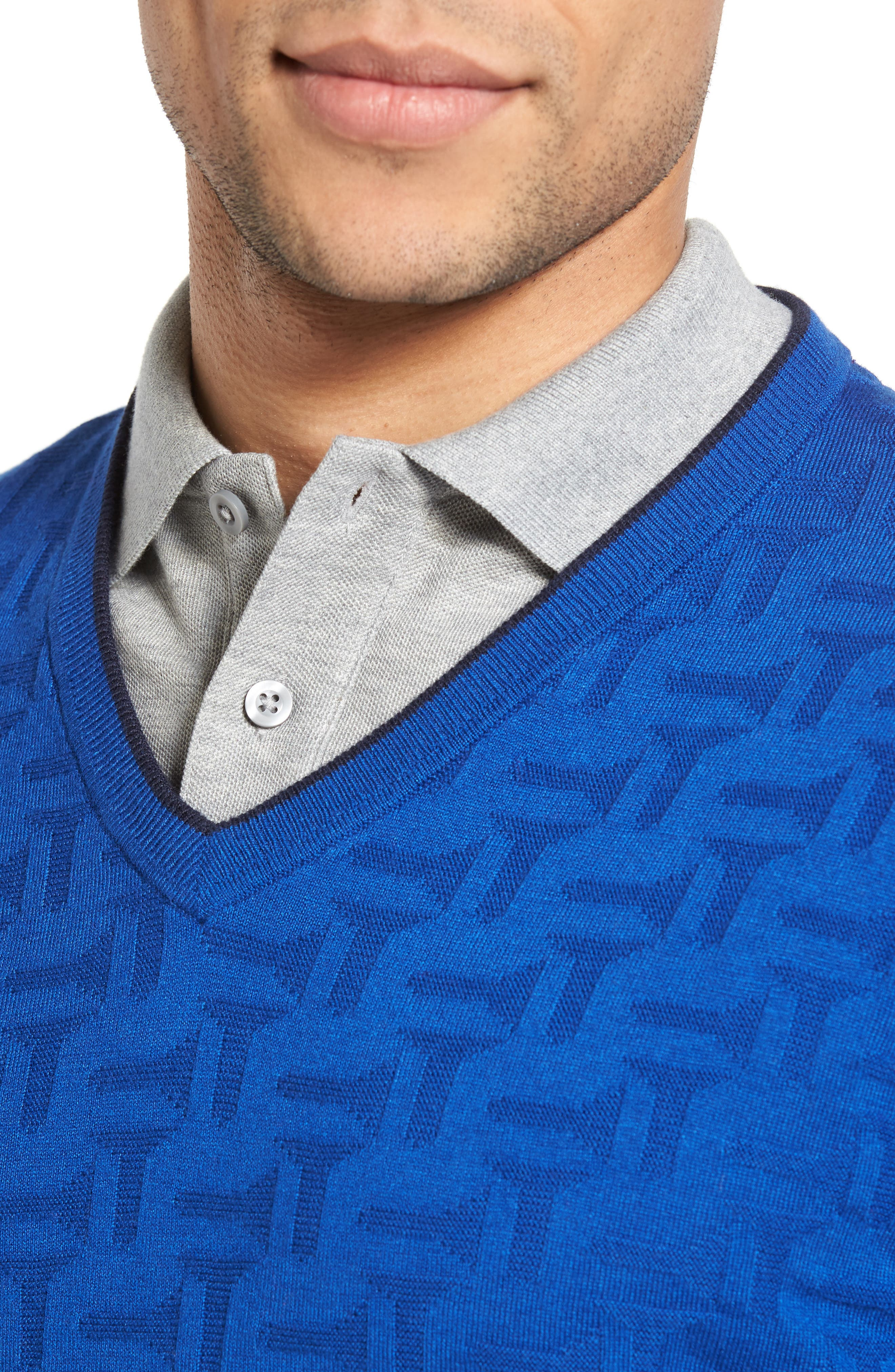 Armstro Tipped Golf Tee Sweater,                             Alternate thumbnail 24, color,