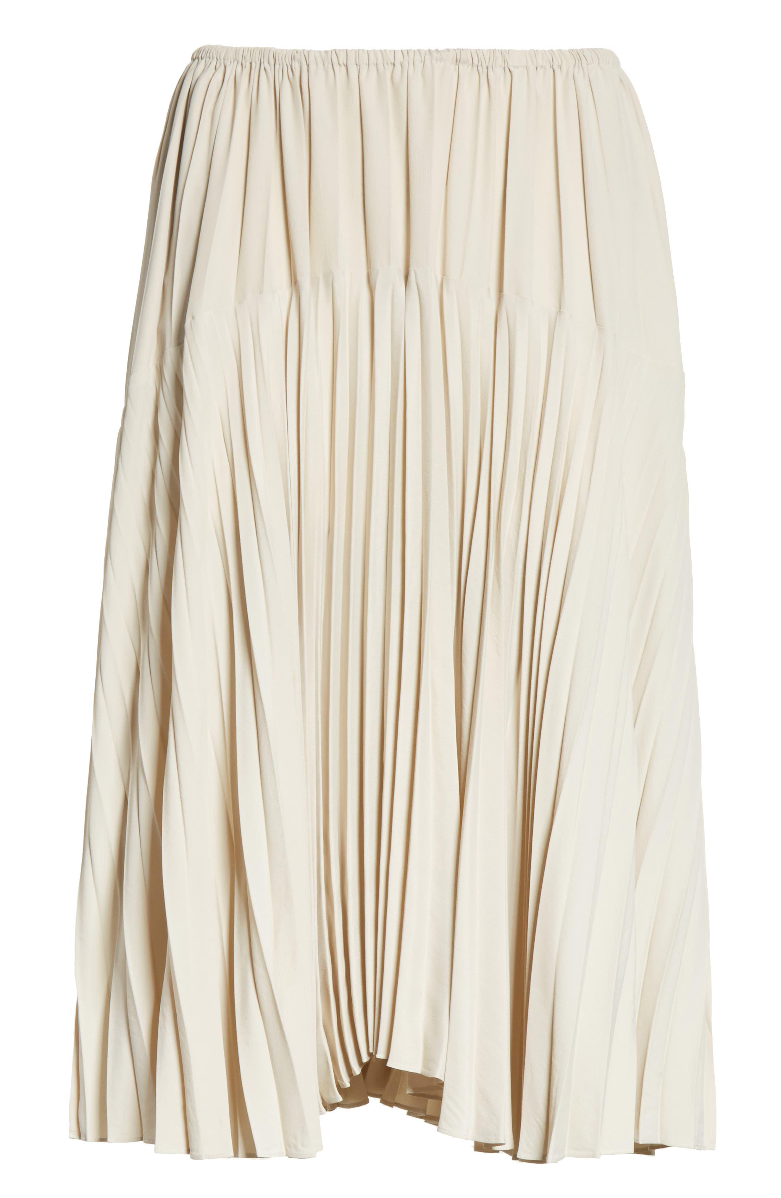 Pleated Skirt,                             Alternate thumbnail 12, color,