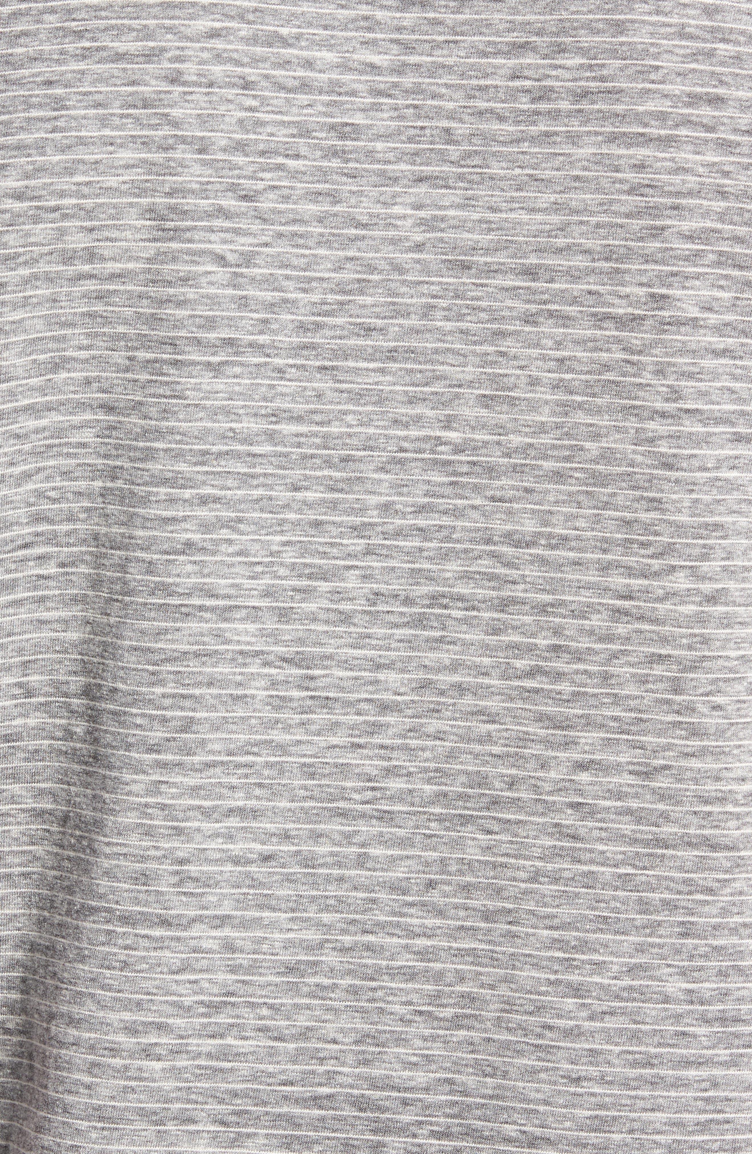 Microstripe Ringer T-Shirt,                             Alternate thumbnail 5, color,                             MEMORY PIGMENT