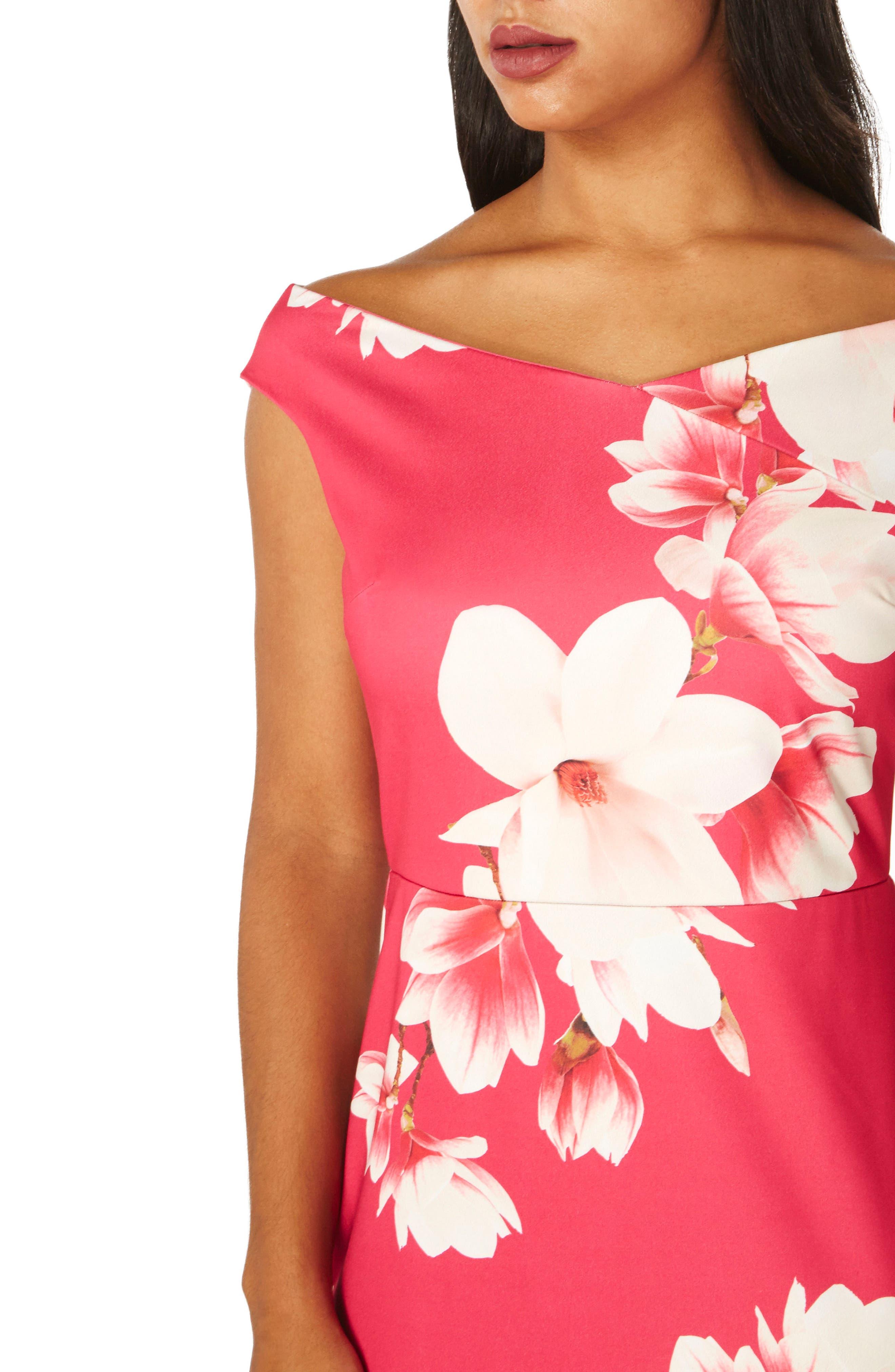 Bardot Sheath Dress,                             Alternate thumbnail 3, color,                             651