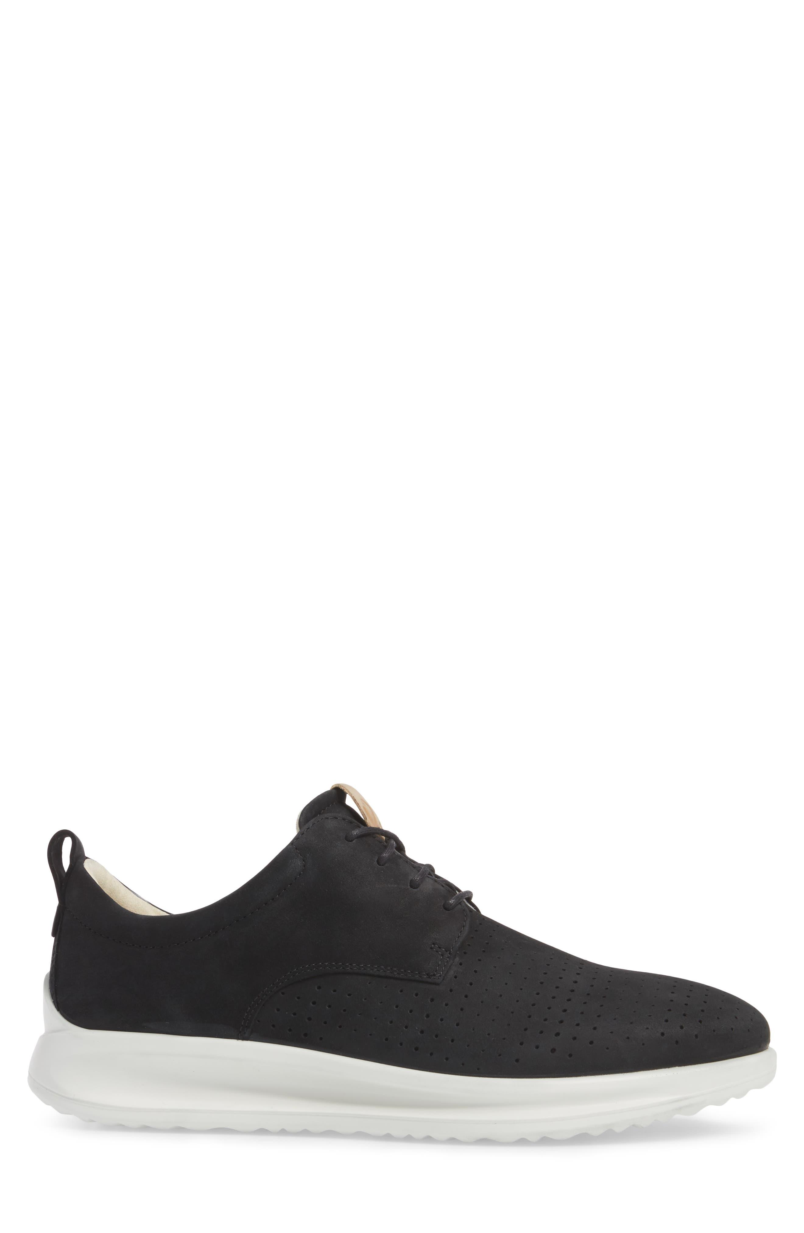 ECCO,                             Aquet Sneaker,                             Alternate thumbnail 3, color,                             007