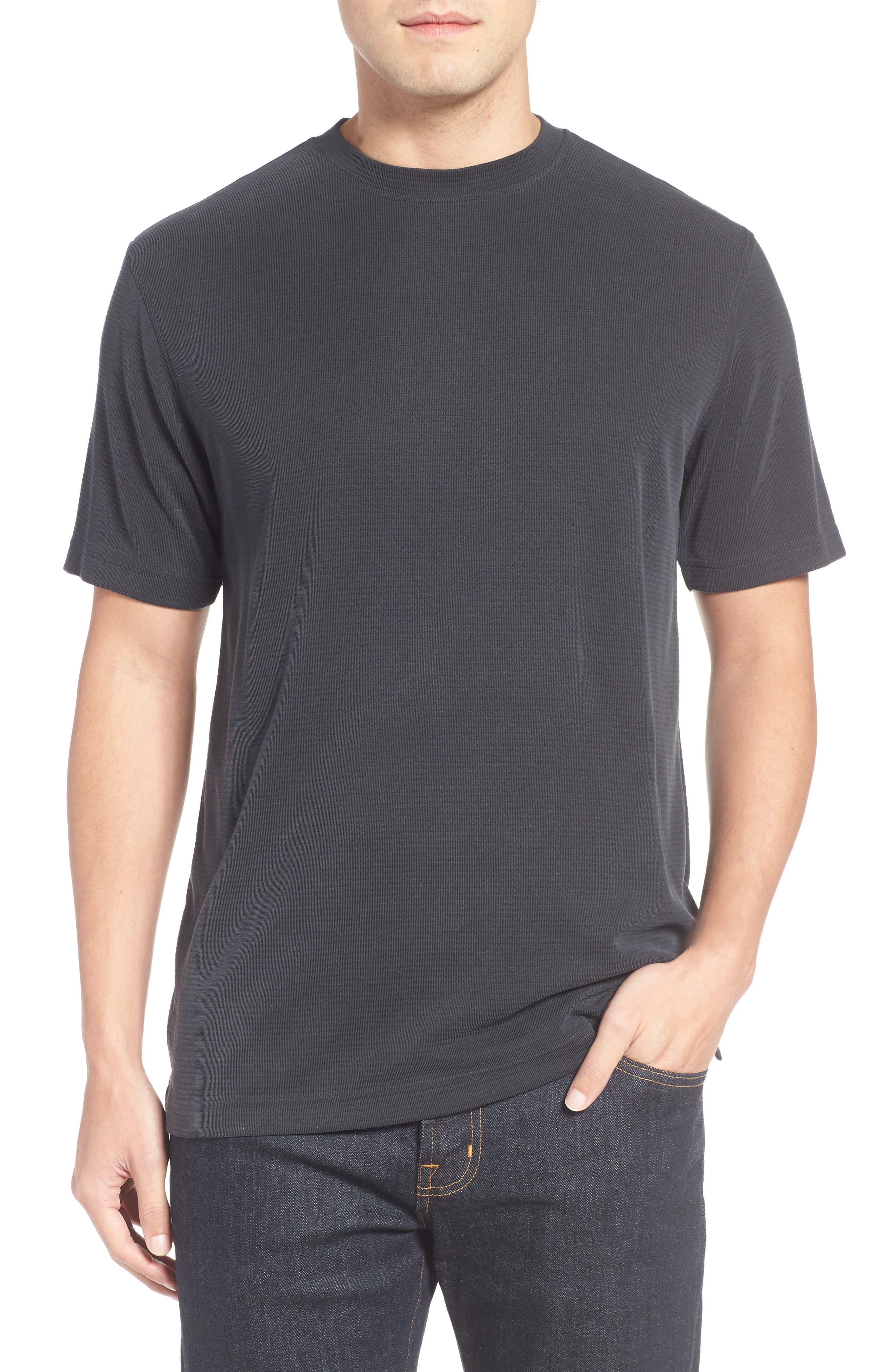 Crewneck T-Shirt,                             Main thumbnail 1, color,                             001