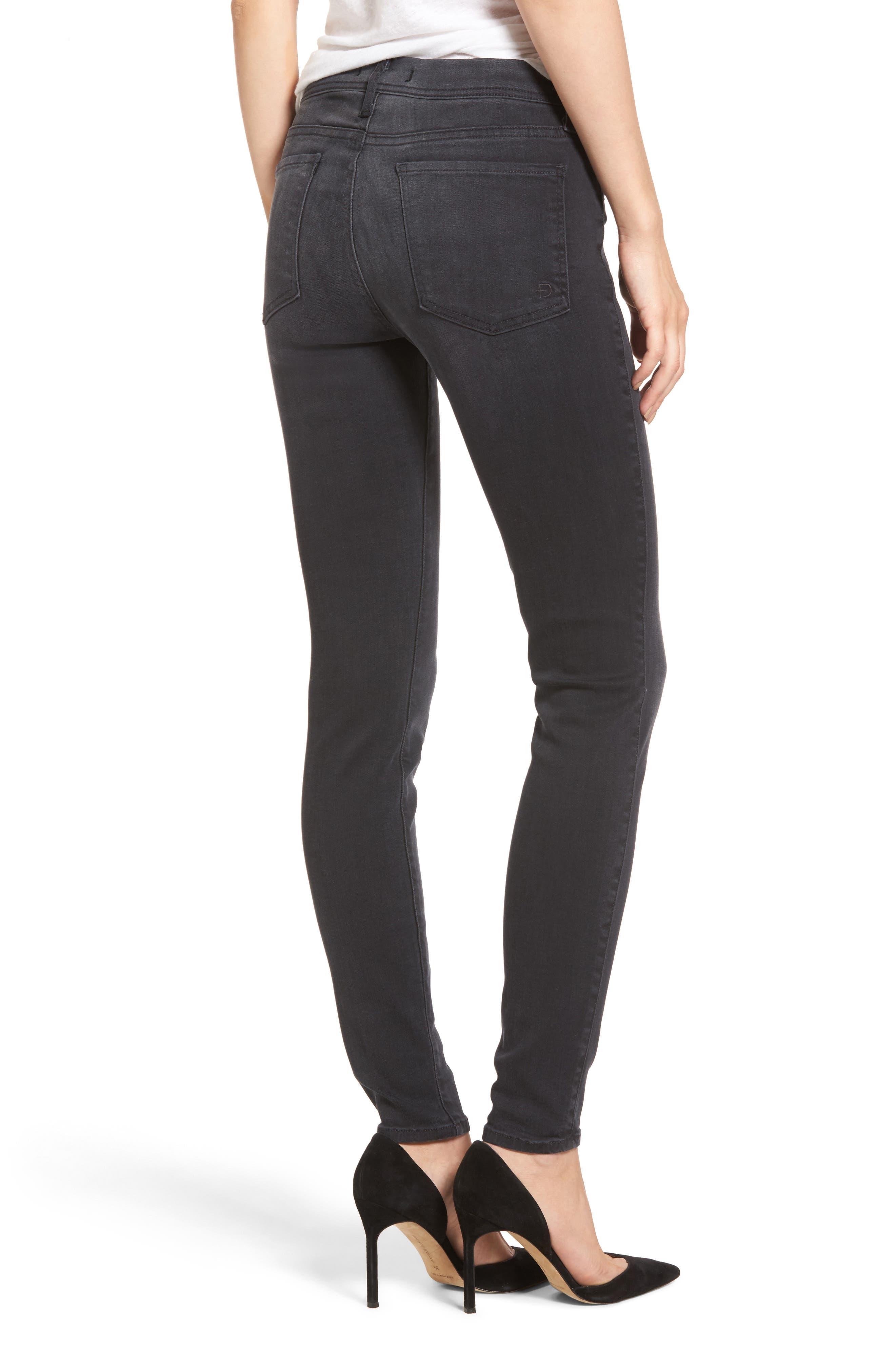 Belvedere Skinny Jeans,                             Alternate thumbnail 2, color,                             001