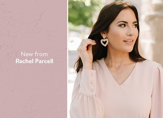 New clothing and more from Rachel Parcell.