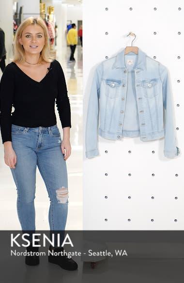 Robyn Crop Denim Jacket, sales video thumbnail