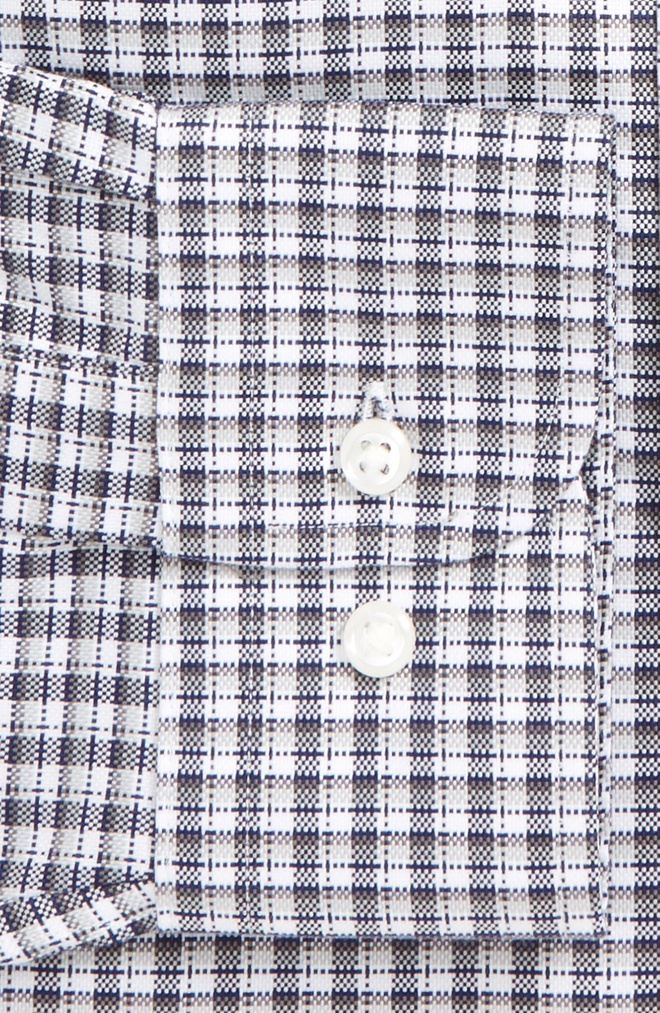 Smartcare<sup>®</sup> Traditional Fit Check Dress Shirt,                             Alternate thumbnail 2, color,                             021