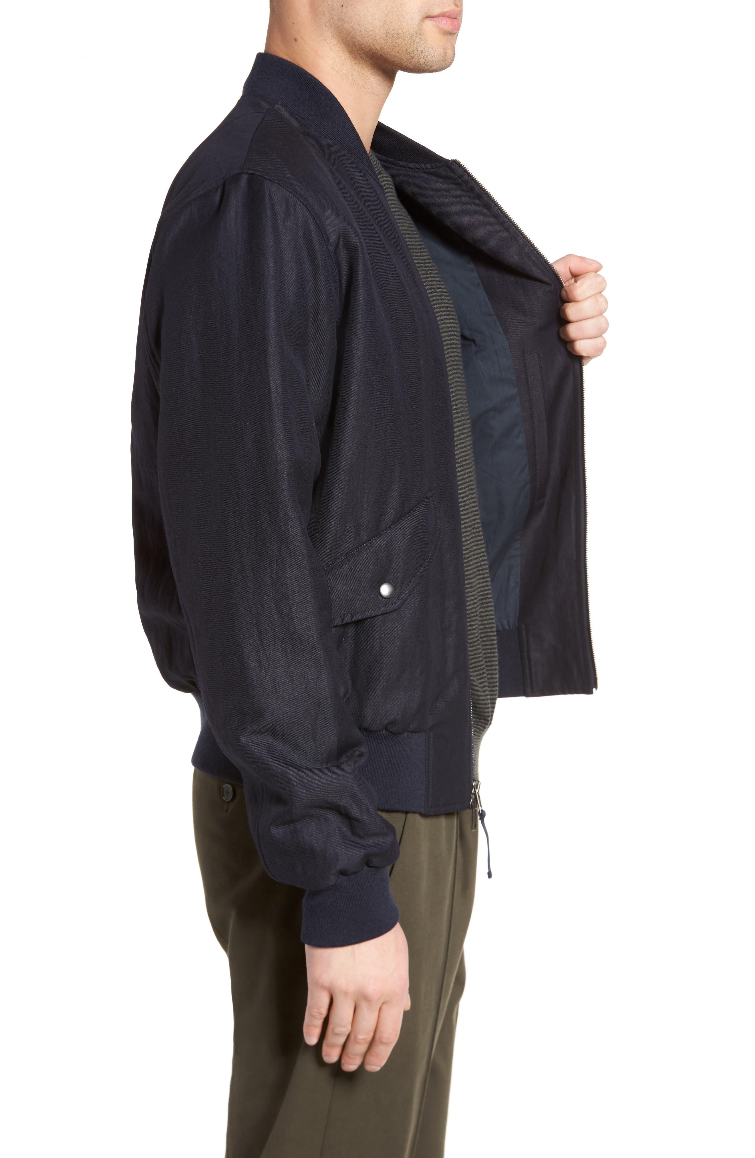 Classic Bomber Jacket,                             Alternate thumbnail 6, color,