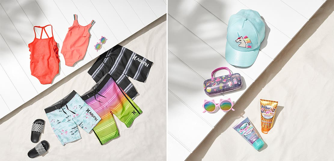 7b020ba385ca0 Swimwear and accessories for girls and boys.
