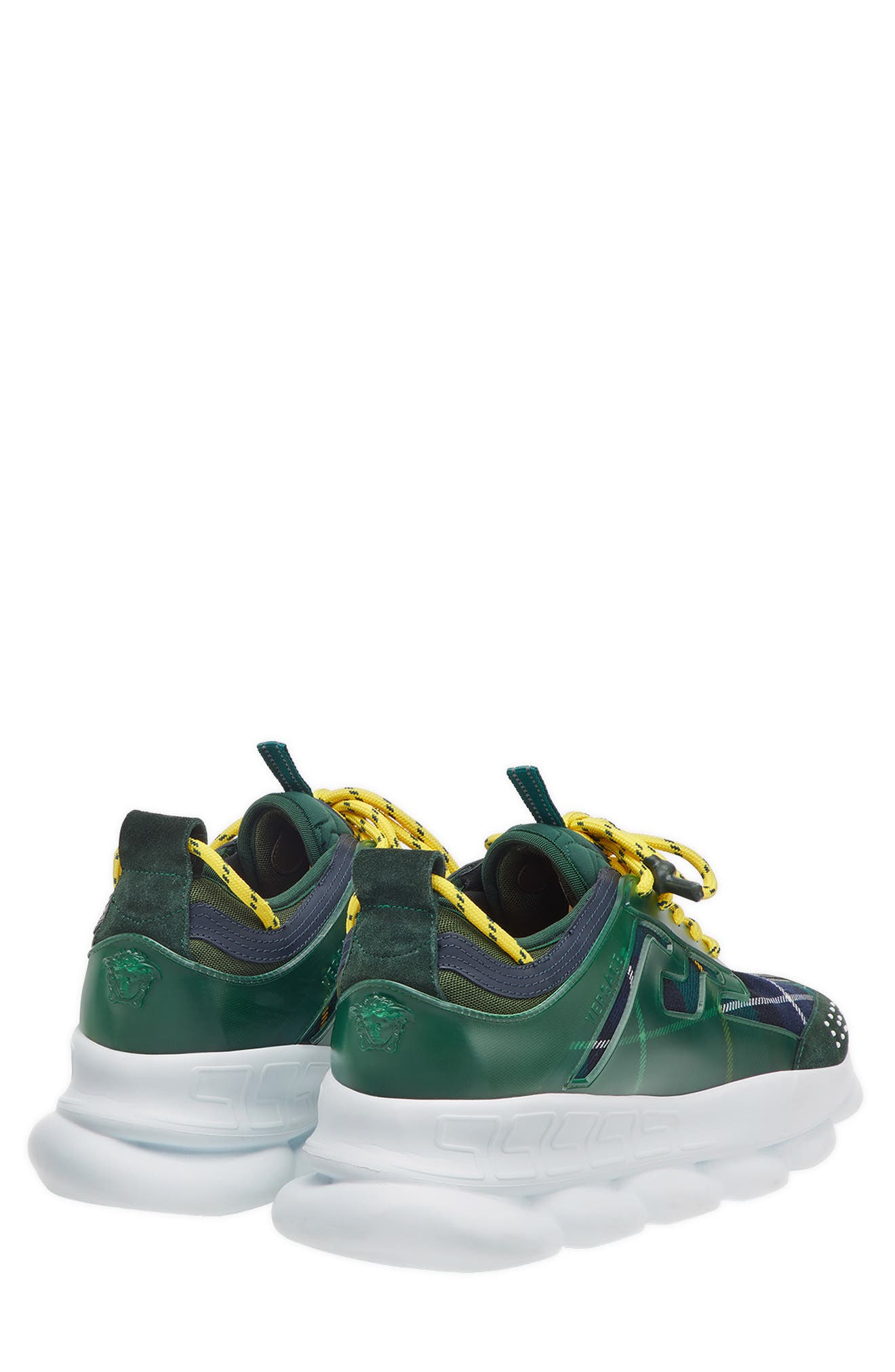 Chain Reaction Sneaker,                             Alternate thumbnail 2, color,                             VERDE/ GIALLO