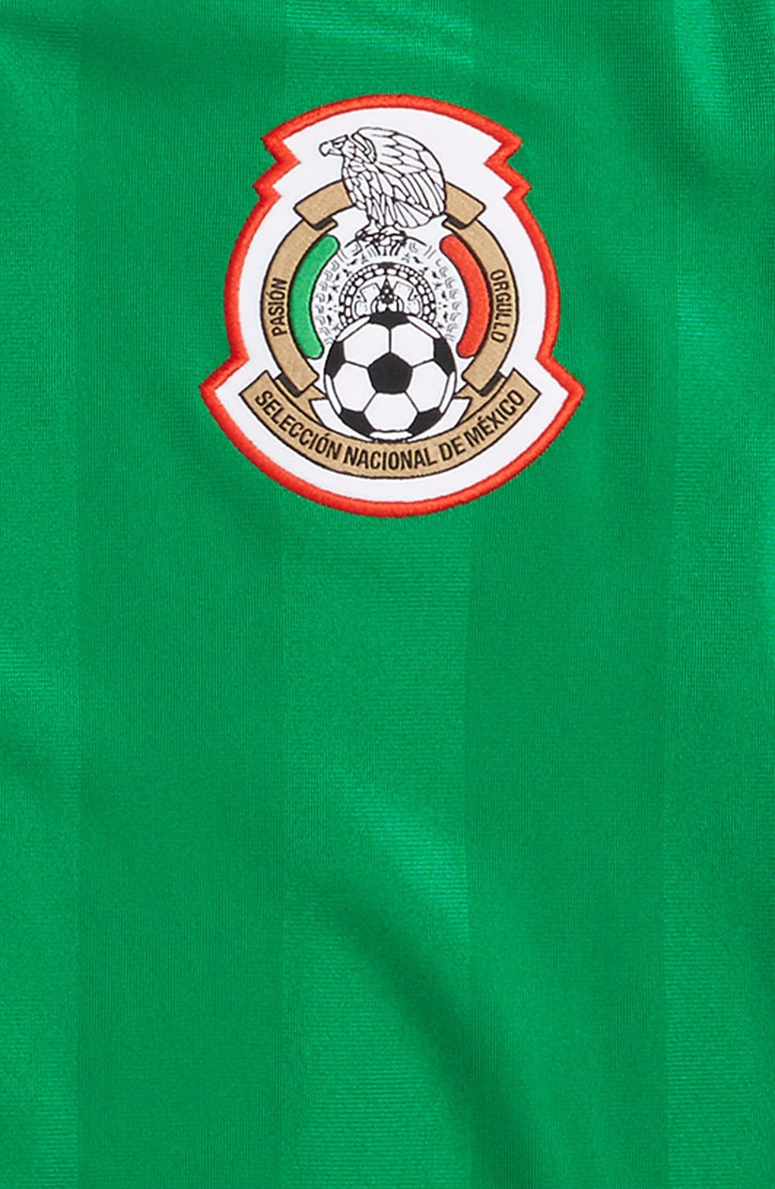 ADIDAS,                             'Mexico - Home' Replica Soccer Jersey,                             Alternate thumbnail 2, color,                             360