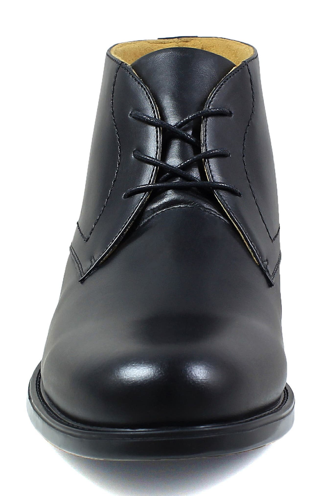 Midtown Waterproof Chukka Boot,                             Alternate thumbnail 4, color,                             BLACK