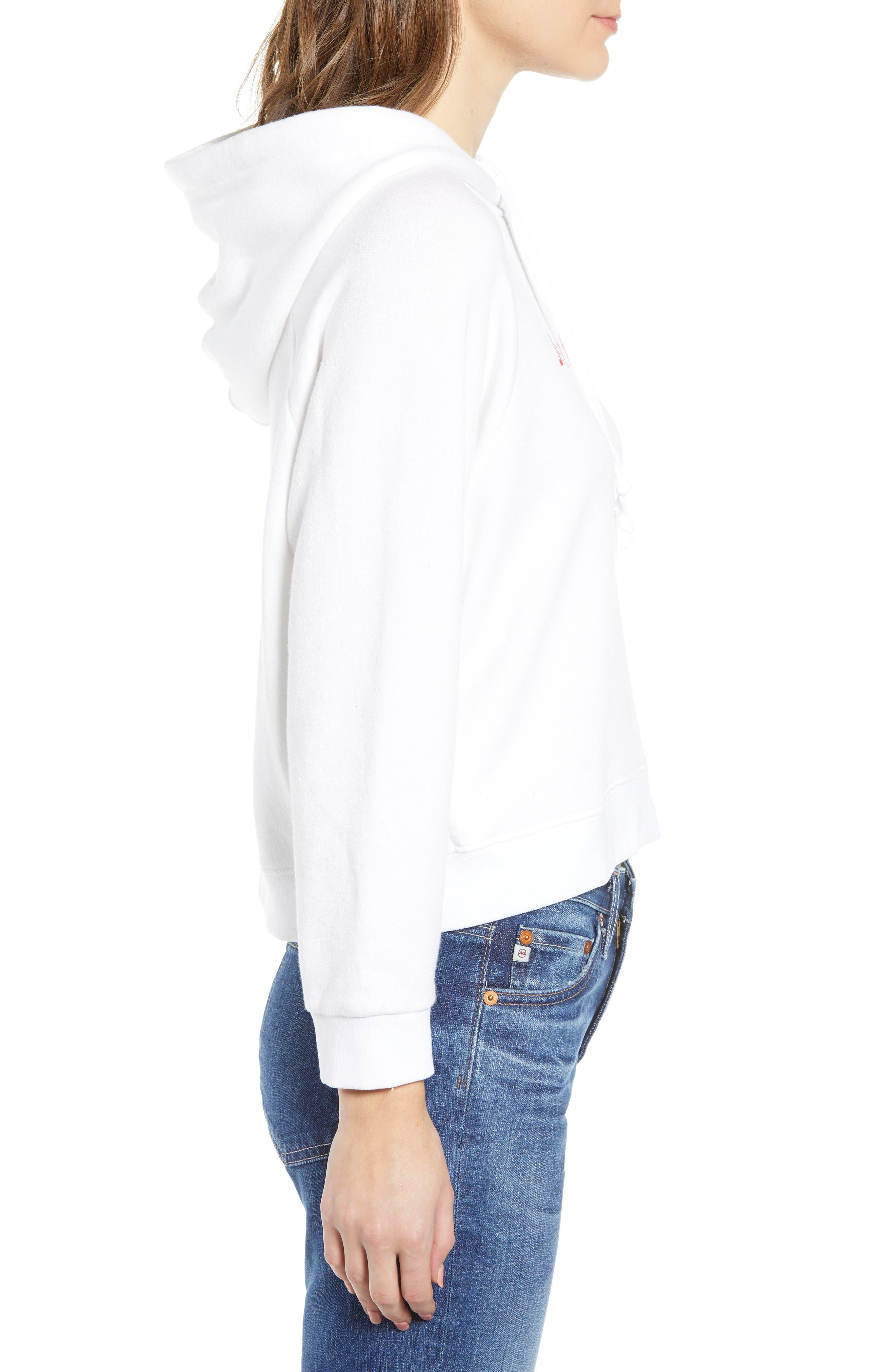 Coronado Hooded Sweatshirt,                             Alternate thumbnail 3, color,                             100