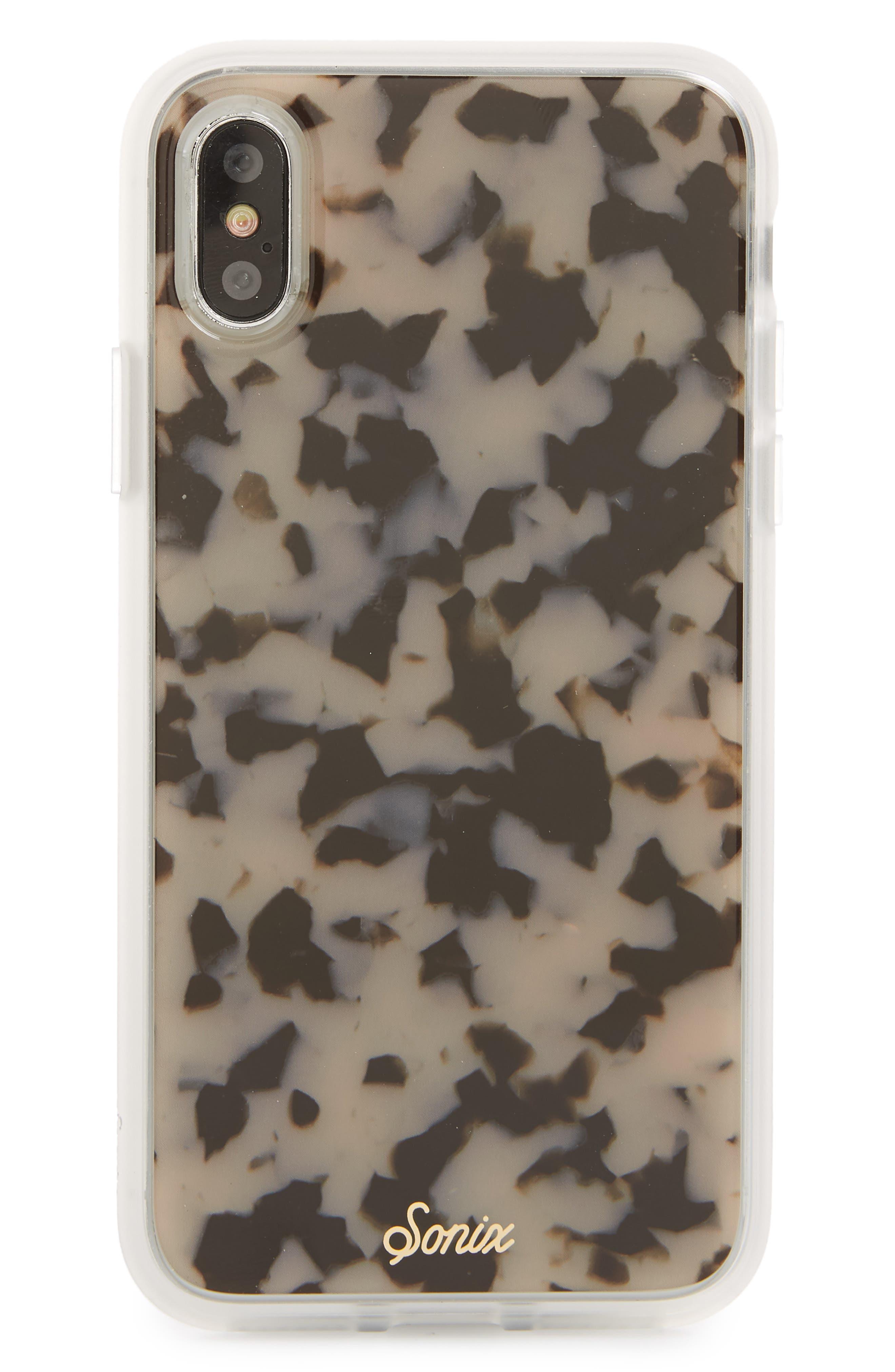 Milky Tortoise iPhone 6/6s/7/8 Case,                             Main thumbnail 1, color,