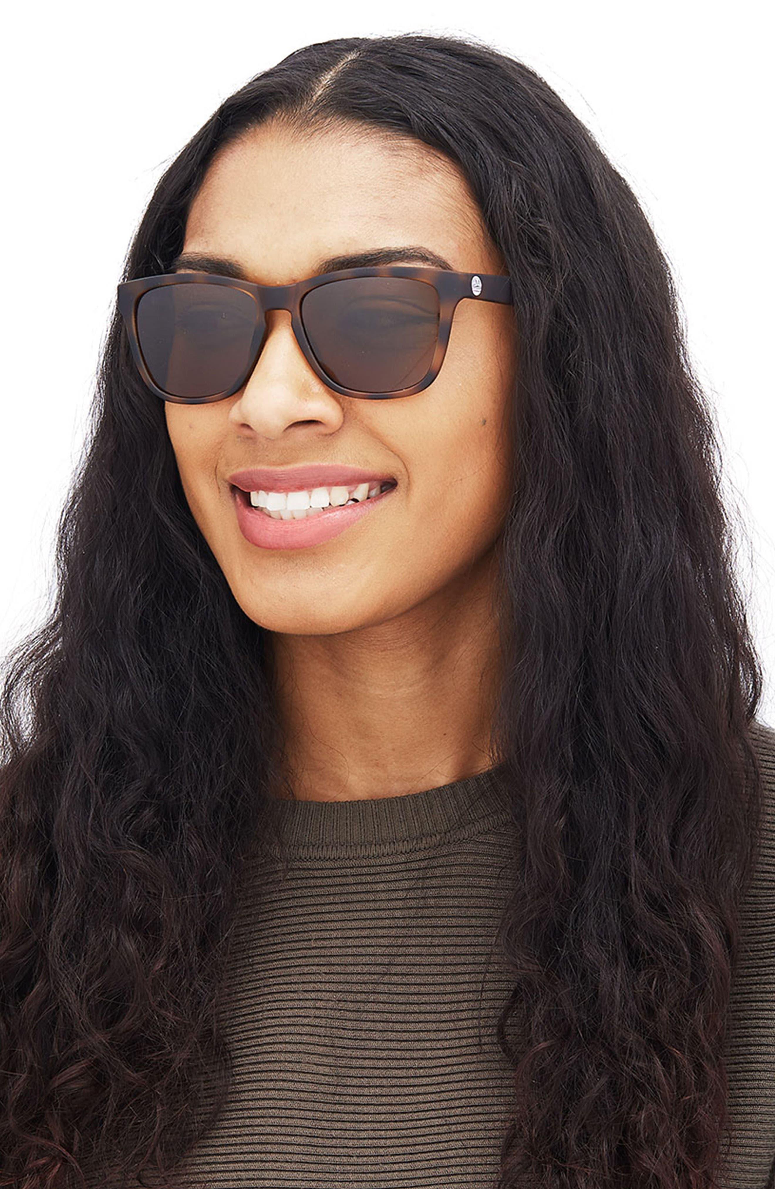 Madrona 53mm Polarized Sunglasses,                             Alternate thumbnail 6, color,                             TORTOISE/BLUE