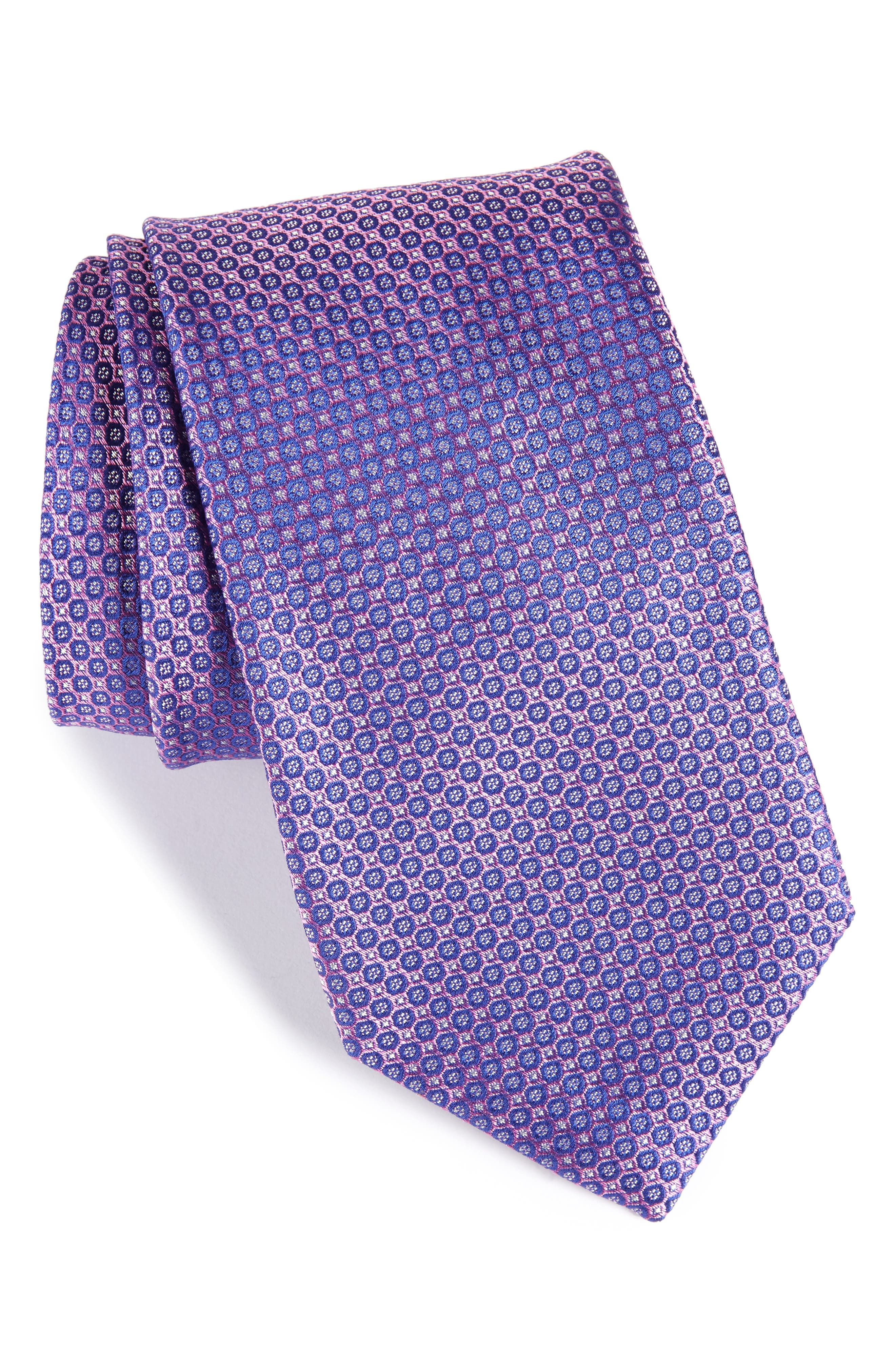 Park Ave Solid Silk Tie,                             Main thumbnail 3, color,