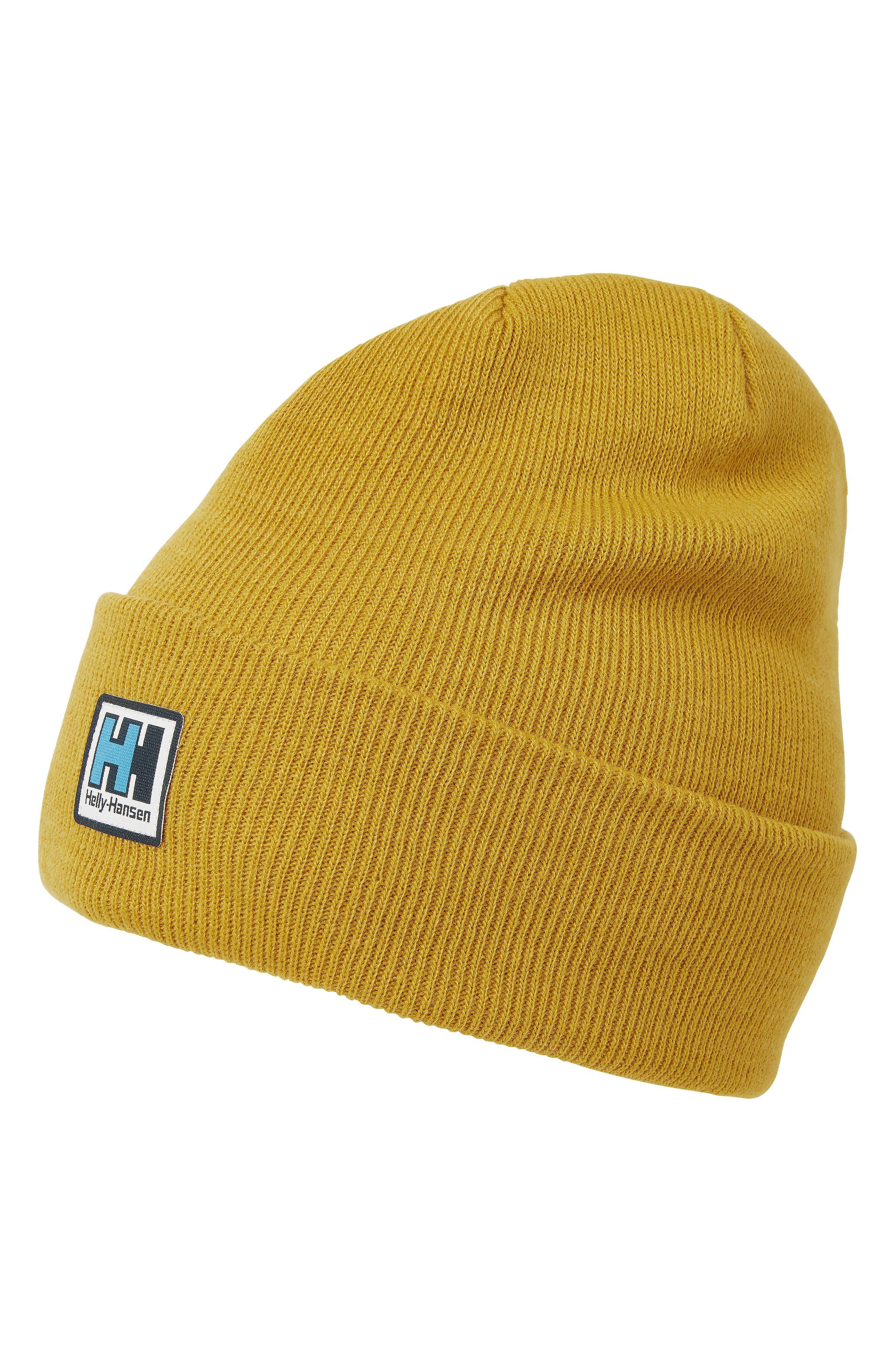 HELLY HANSEN Urban Beanie - Yellow in Arrowood