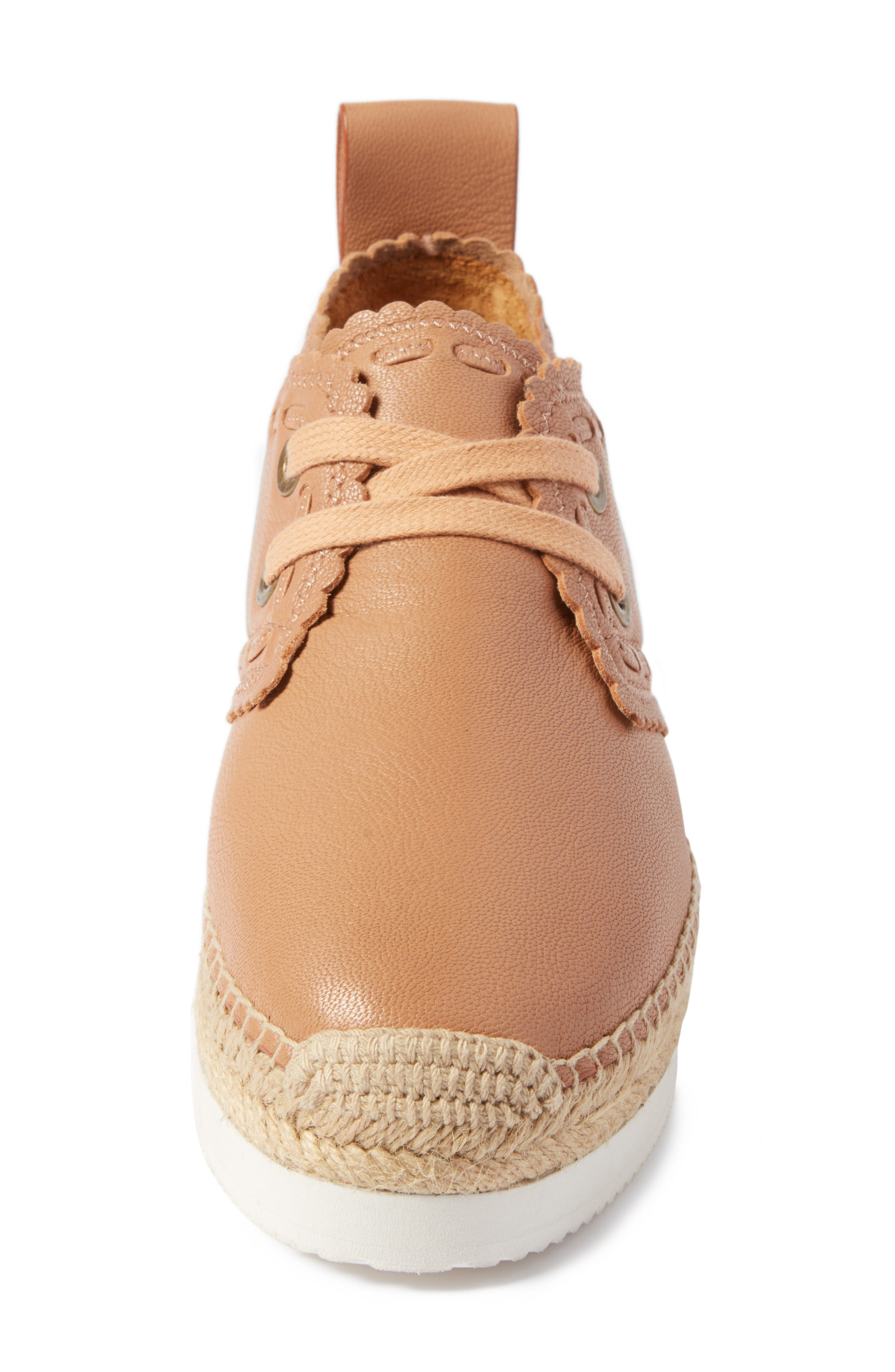 Glyn Espadrille,                             Alternate thumbnail 4, color,                             TOFFEE