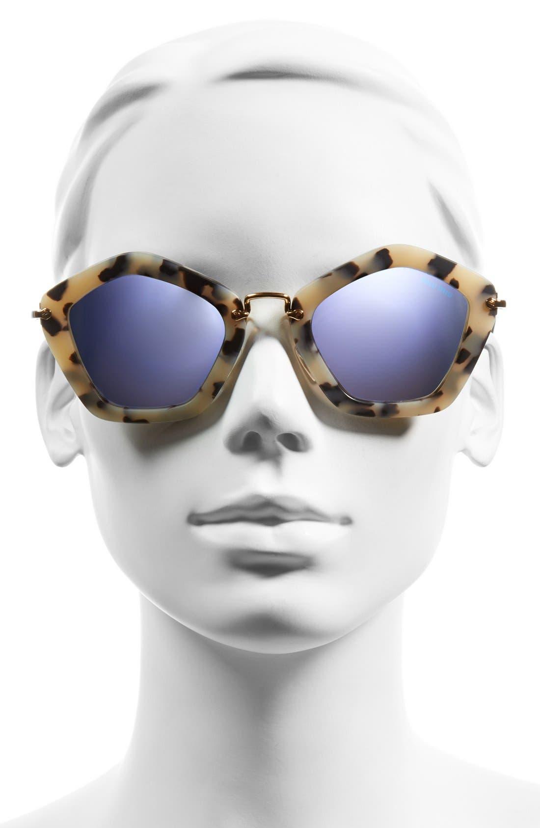 'Noir' 53mm Sunglasses,                             Alternate thumbnail 2, color,                             200